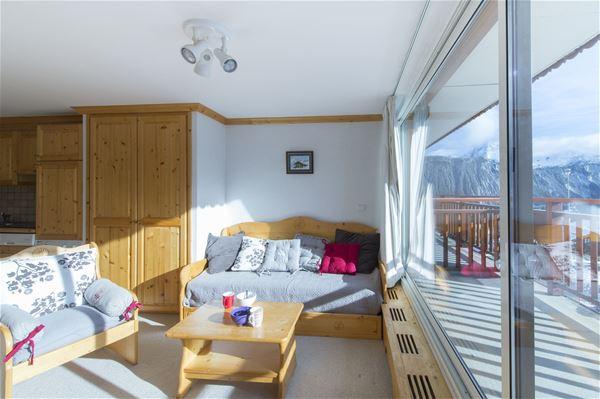 2 pièces cabine 4 personnes / PRALONG 203 (Montagne)