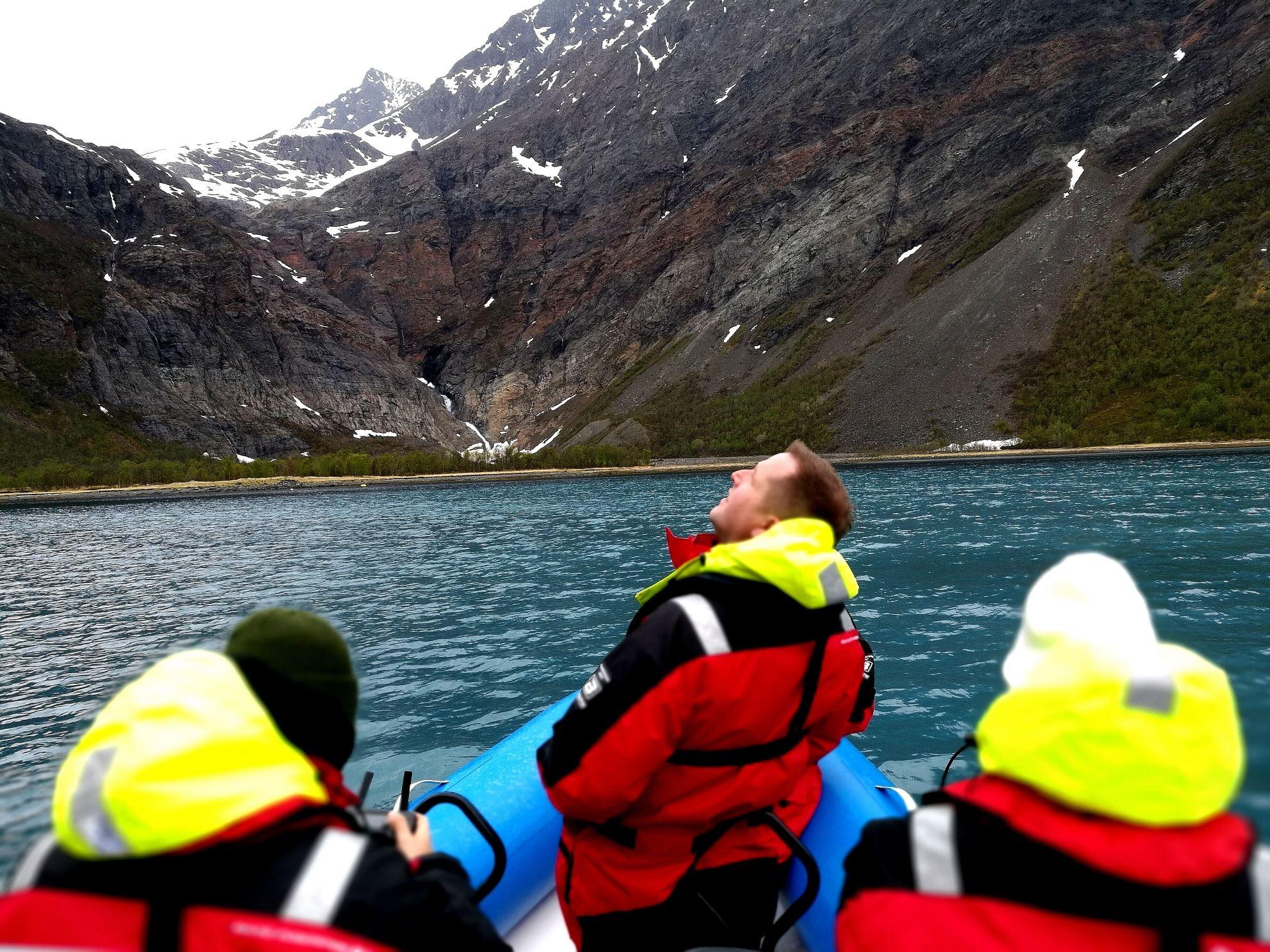 RIB fjord tour - Experience the Lyngenfjord