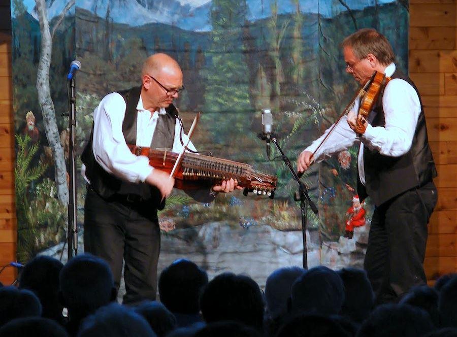 Violin och Nyckelharpa