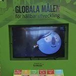 Globala målen för hållbar utveckling - utställningsmodul