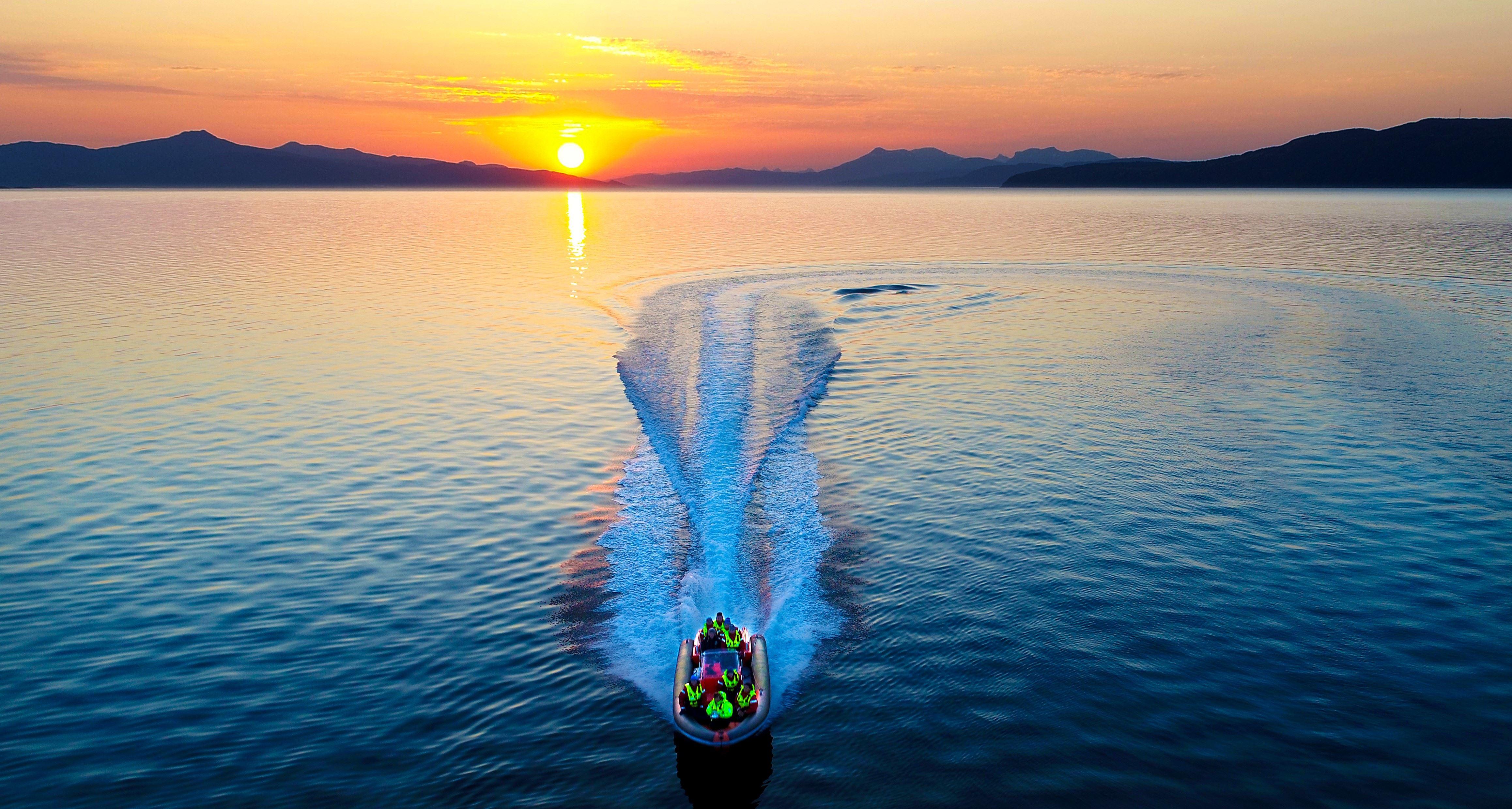 Michael Ulriksen, Explore the Ofot fjord with a RIB Safari