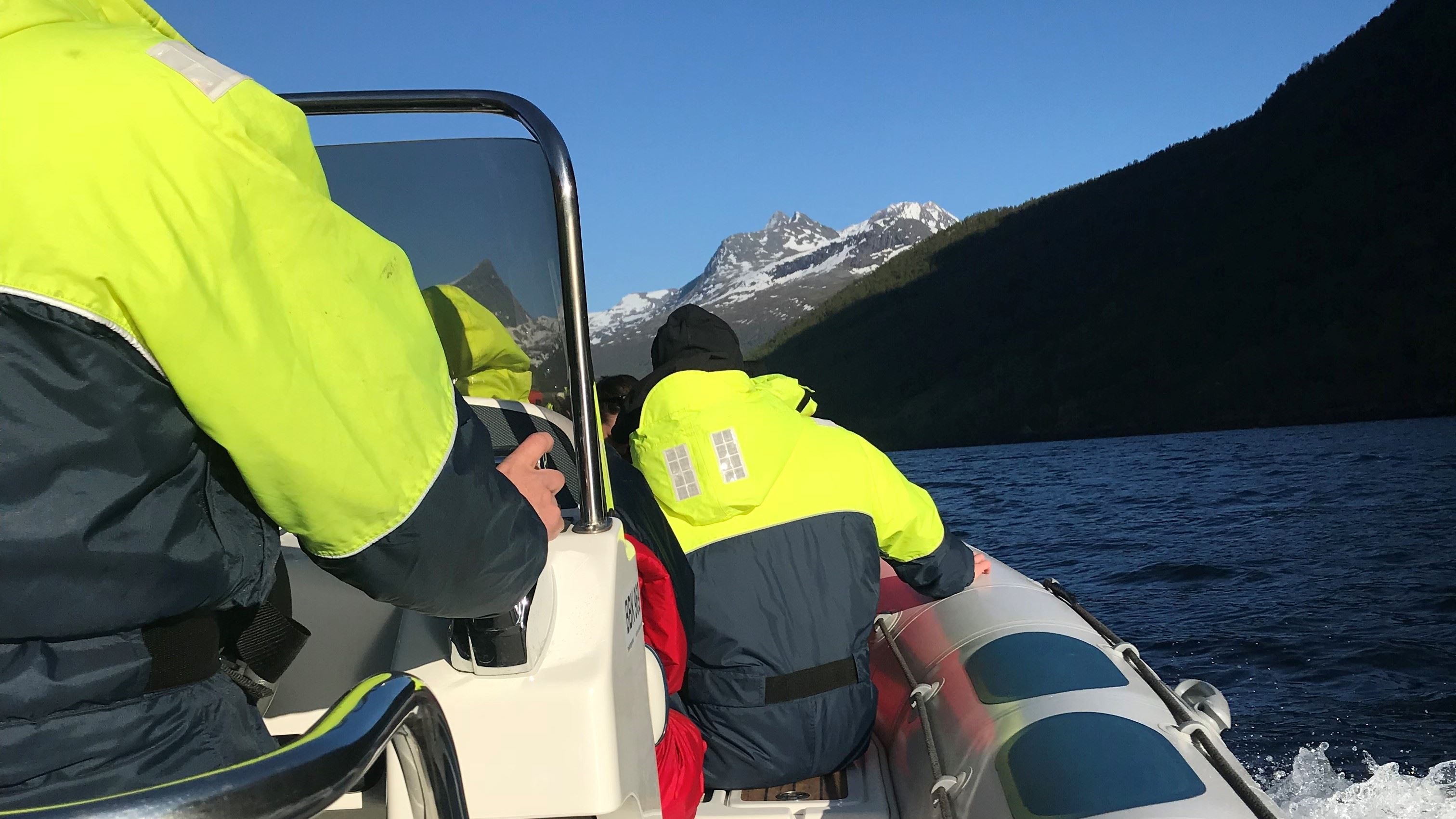 June Berg-Sollund, Explore the Ofot fjord with a RIB Safari