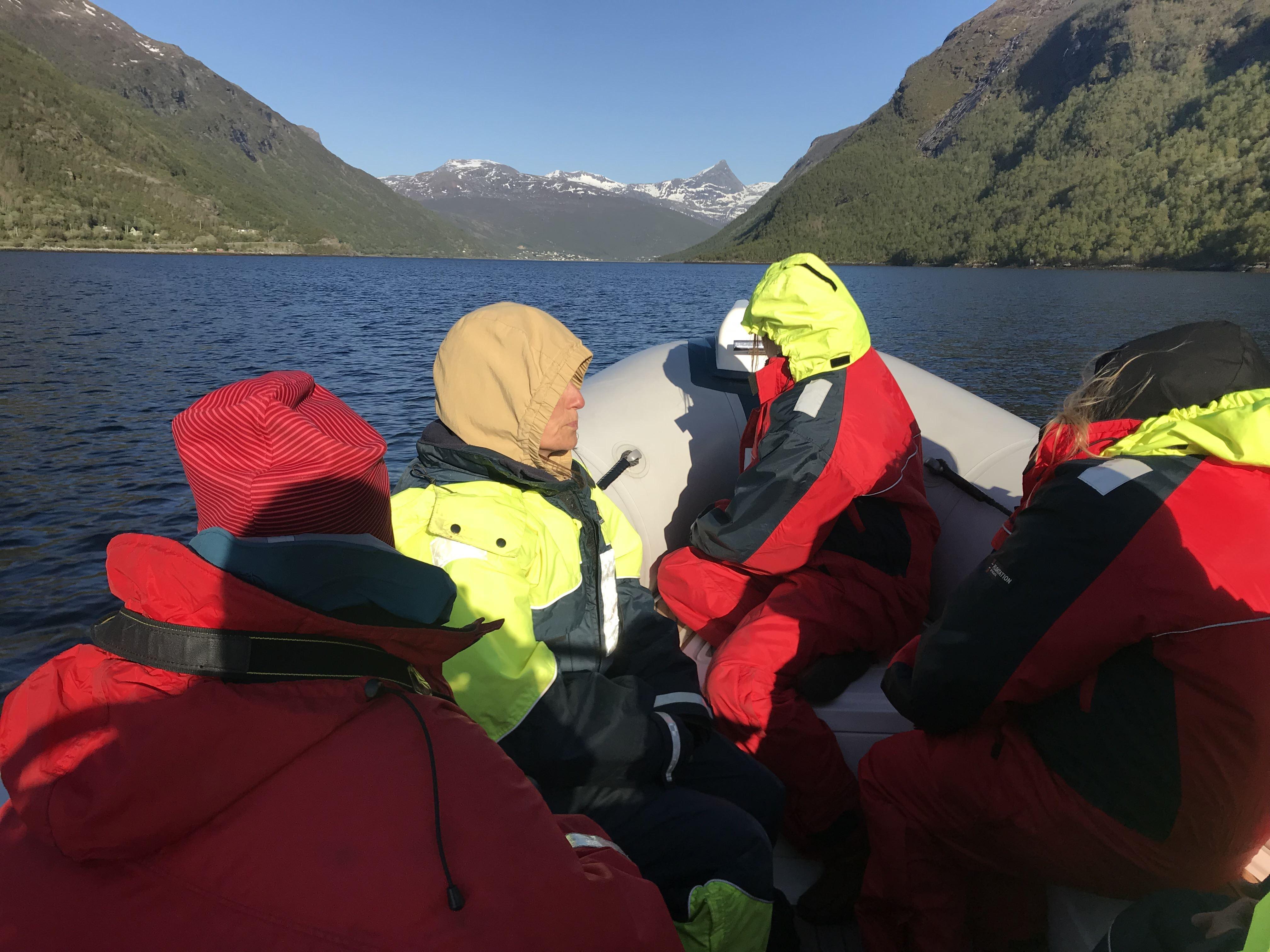 June Berg-Sollund, Opplev Ofotfjorden med RIB safari
