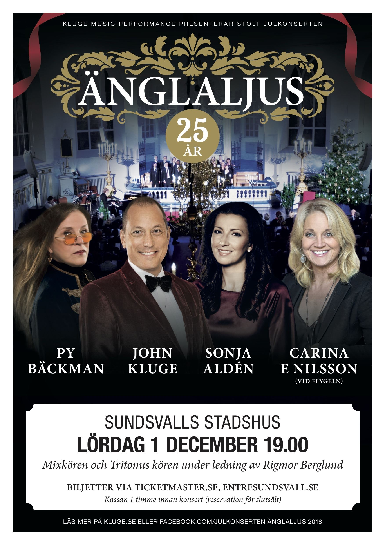 Julkonserten Änglaljus - 25 års jubileum