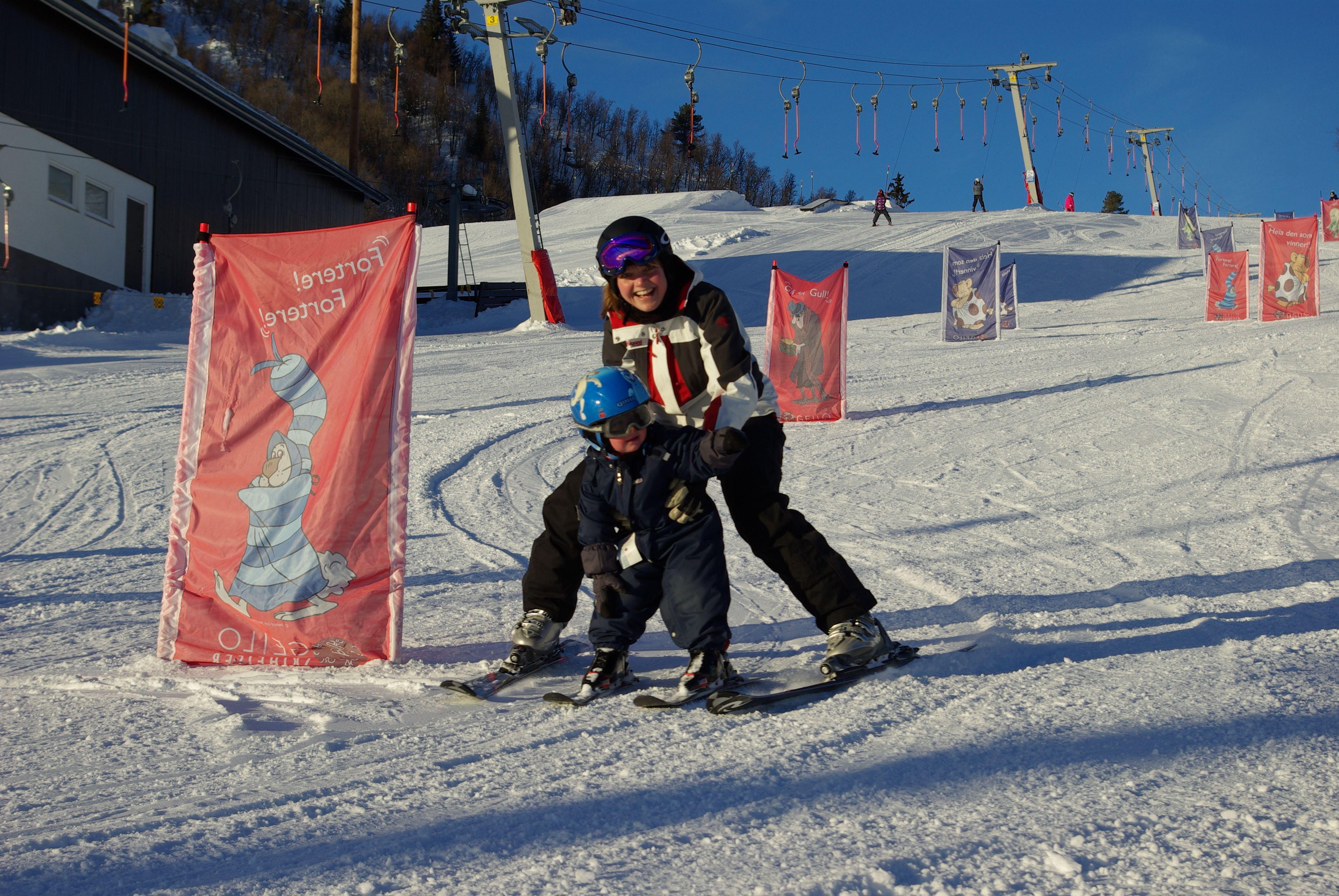 Slaatta Skisenter AS,  © Slaatta Skisenter AS, Privat ski instruksjon for barn mellom 2-4 år
