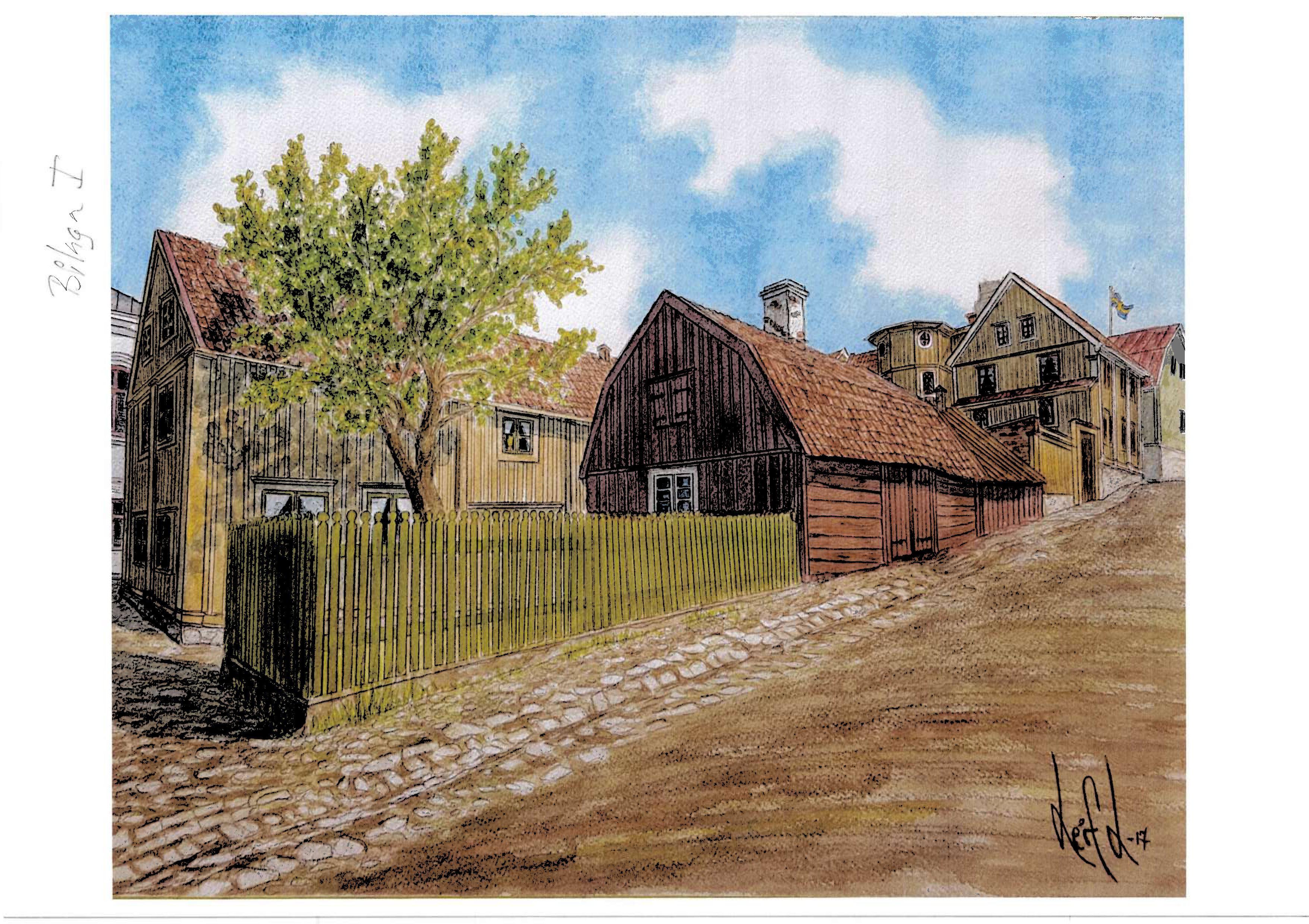 Carl XI och Carl XII:s visit in Karlshamn