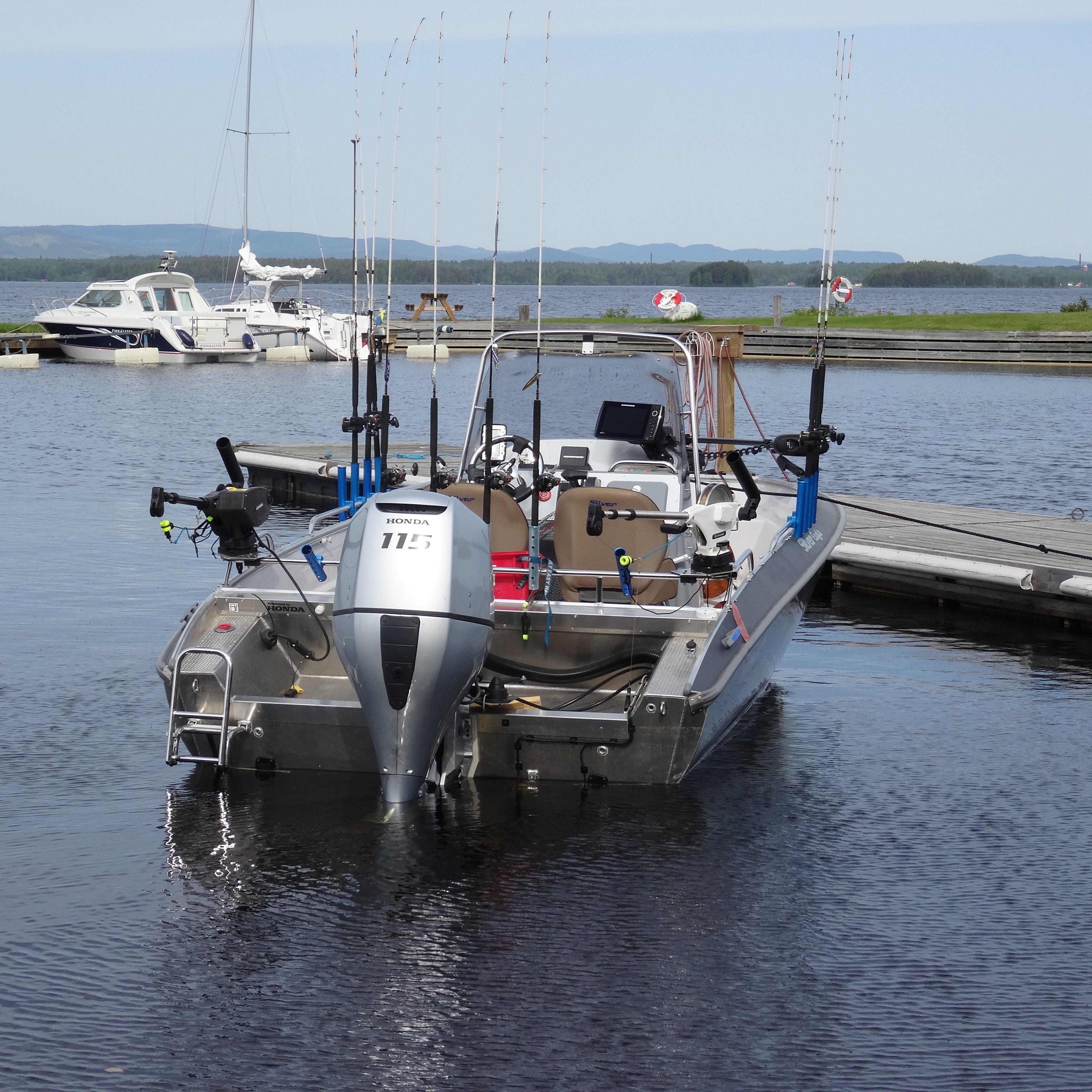 Trollingpaket med guidade turer på Orsasjön och Siljan