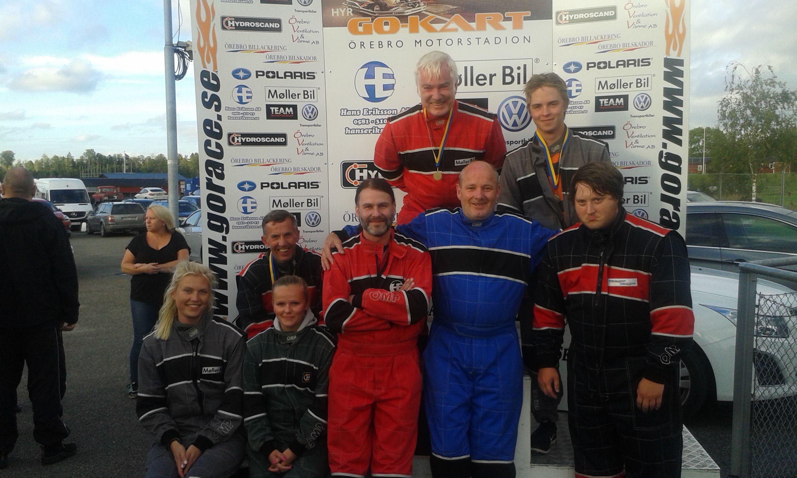 Go Kart Race i Kumla