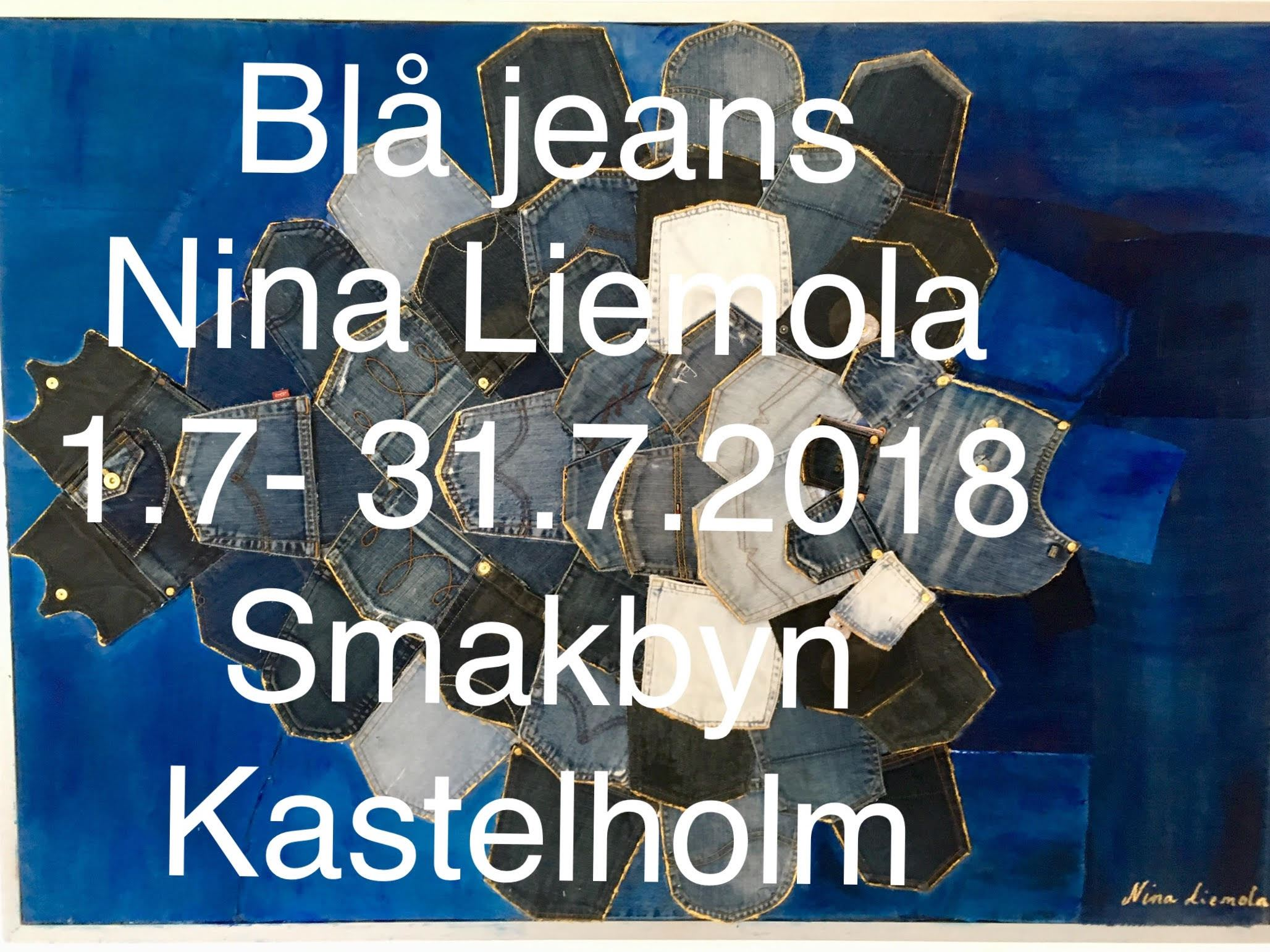 Exhibition: Blå jeans by Nina Liemola