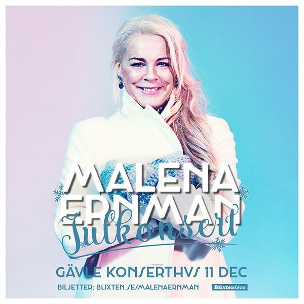 Malena Ernman - Konserten är inställd