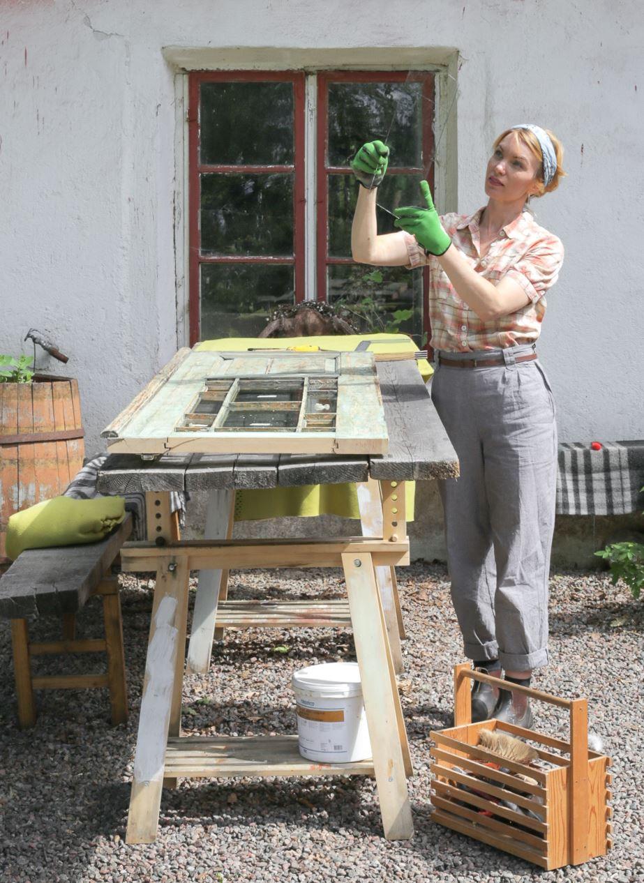 Erika Åberg, Erika Åberg, byggnadsvård