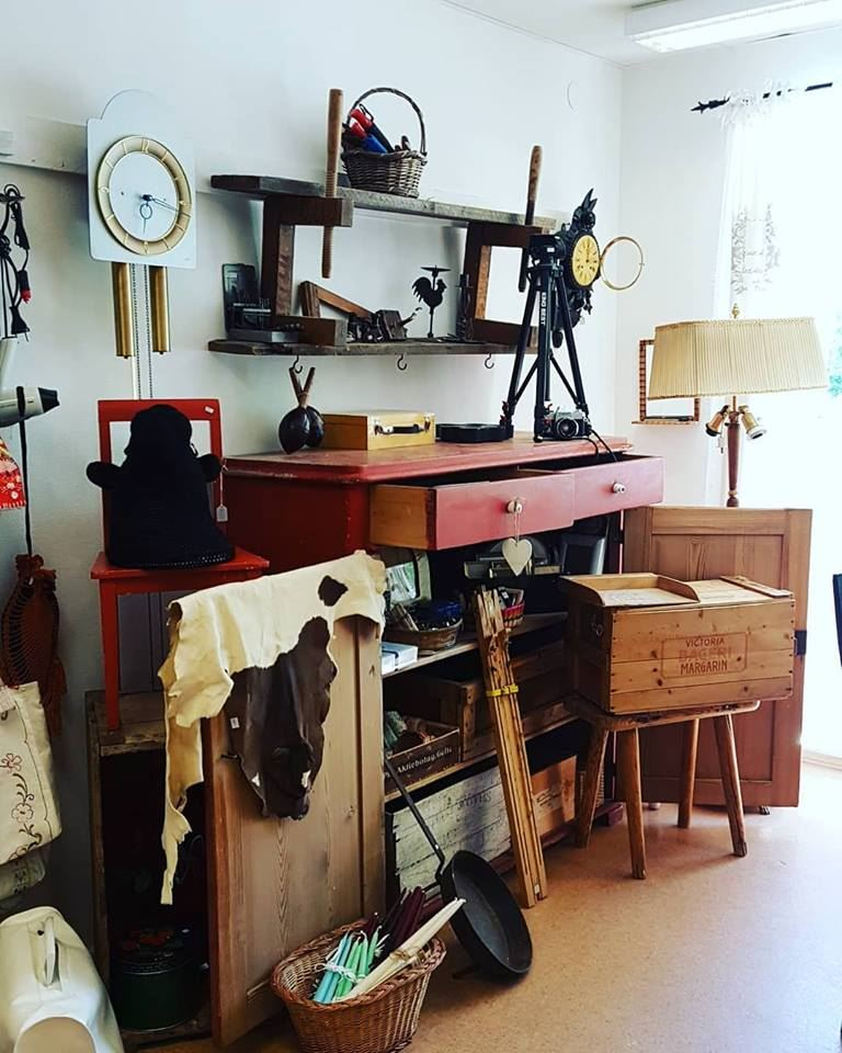 Kreativboden i Söderhamn Second hand