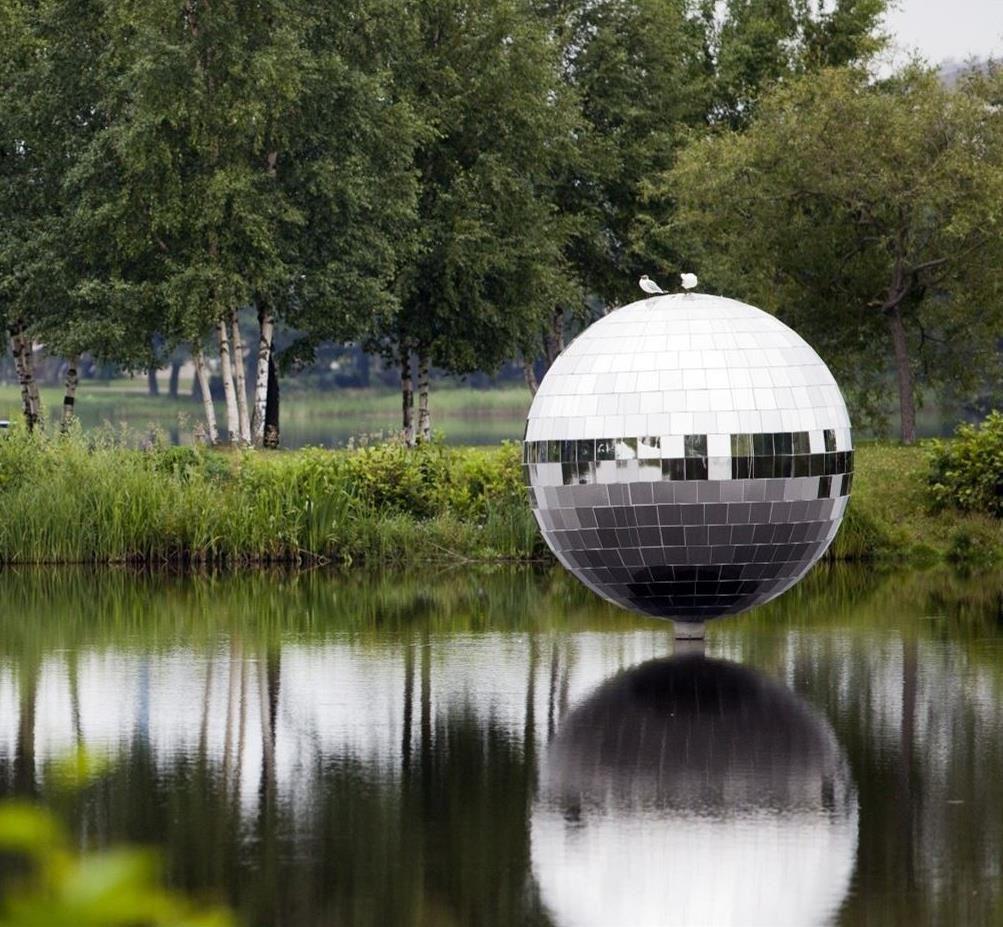 Växjö Art Site - konststråket runt Växjösjön