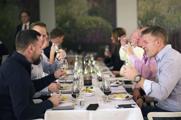 Ost och vinprovning Grand Hotel Gävle