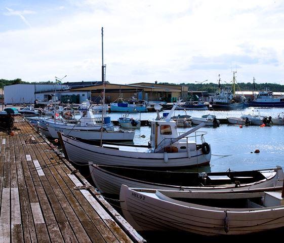 Midsommarfirande vid Marinan i Hörvik