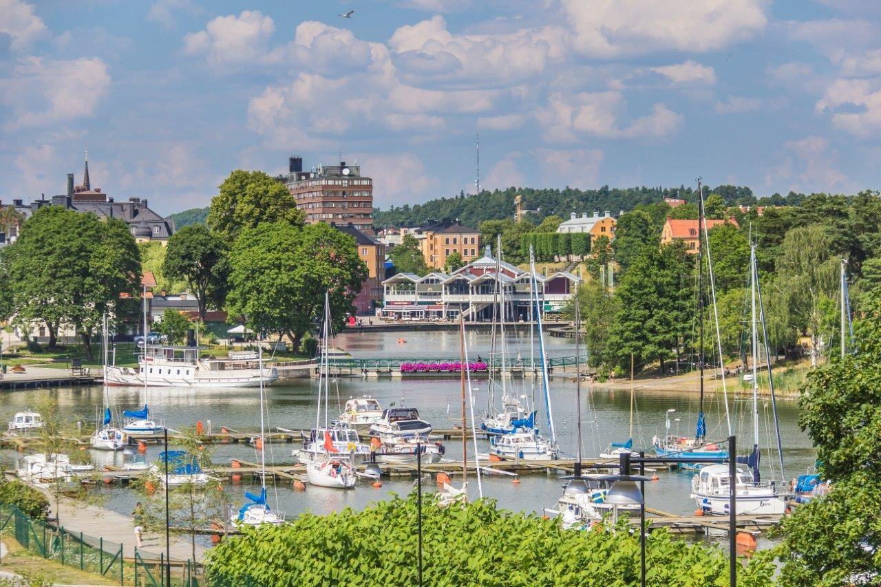 Södertäljevandring Sommar 2018, Ejdern flytande stadsvandring