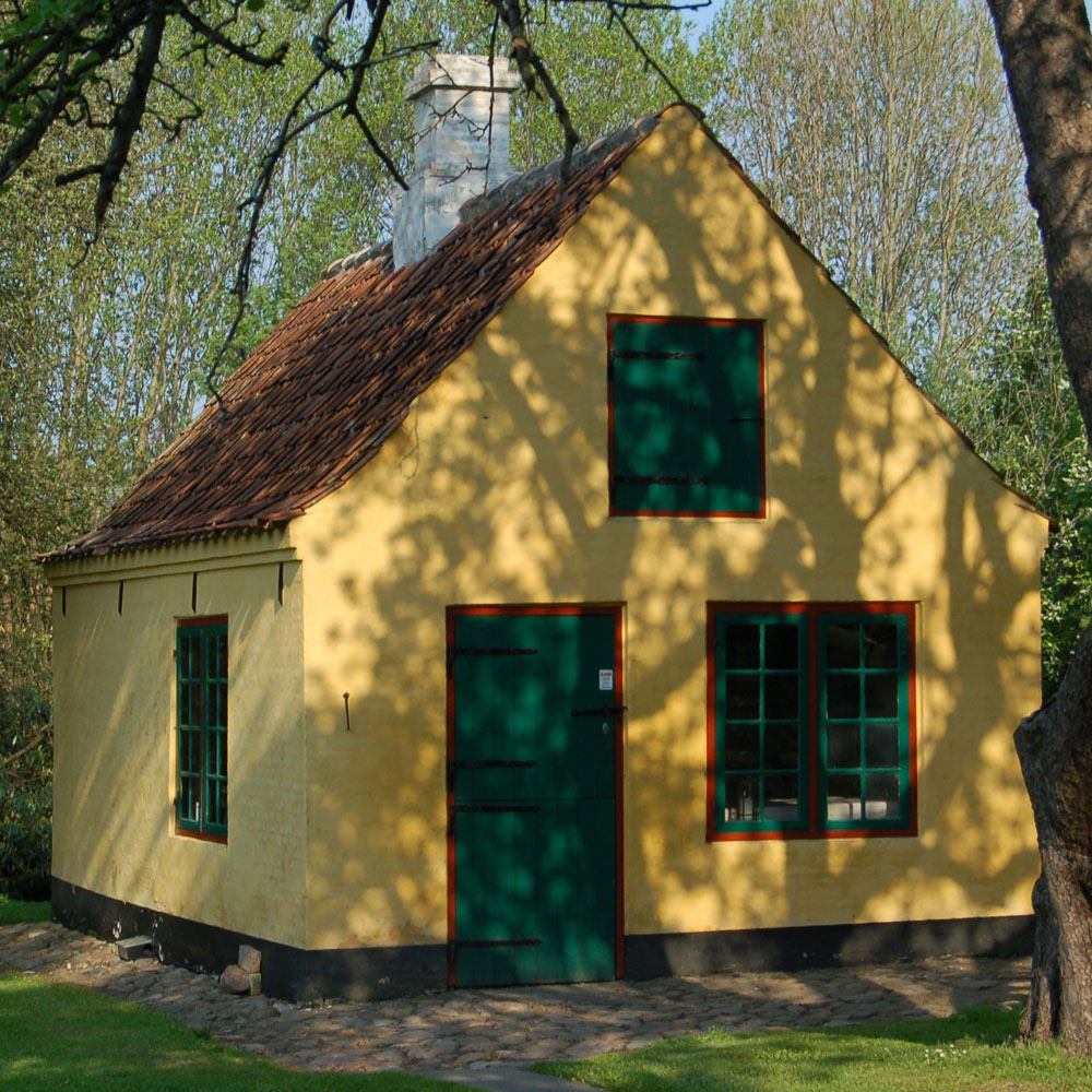 Rundvisning på Egnsmuseet Jacob Michelsens Gård