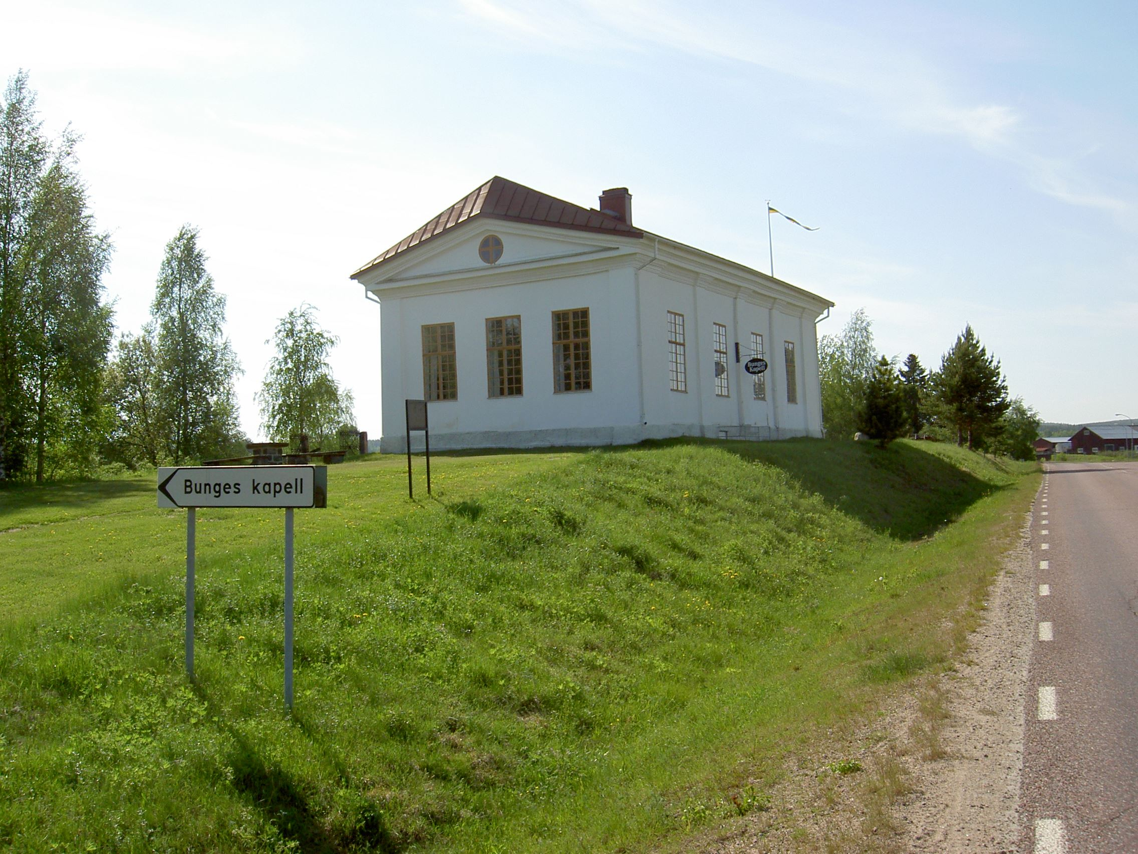 Bunges Kapell i Åmot öppen för sommarsäsongen