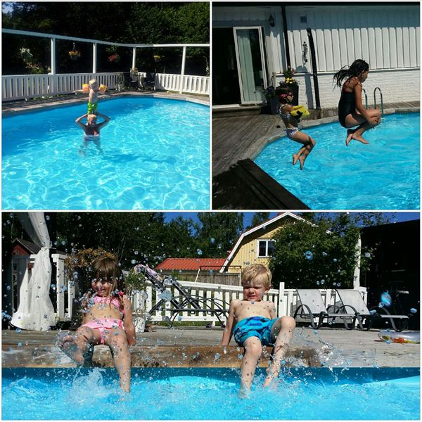 Semesterlägenhet med pool