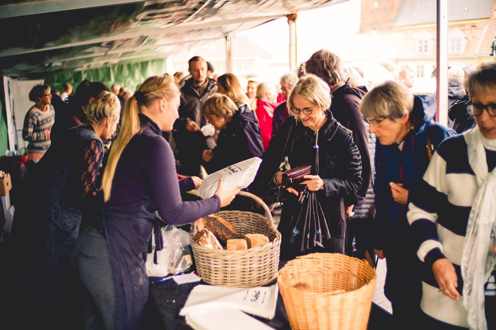 © Kamilla Becker Larsen, Nakskov Food Market - Fødevaremarked