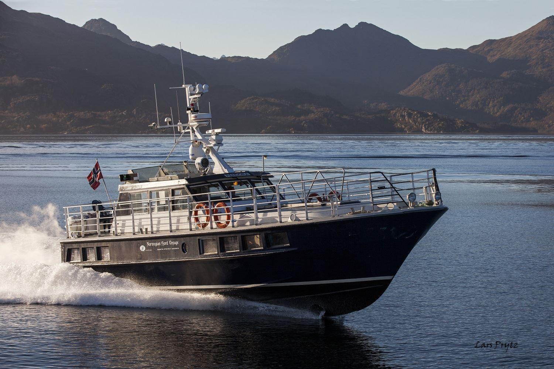 Lars Prytz, Lødingen Skyssbåtservice - Trollfjorden