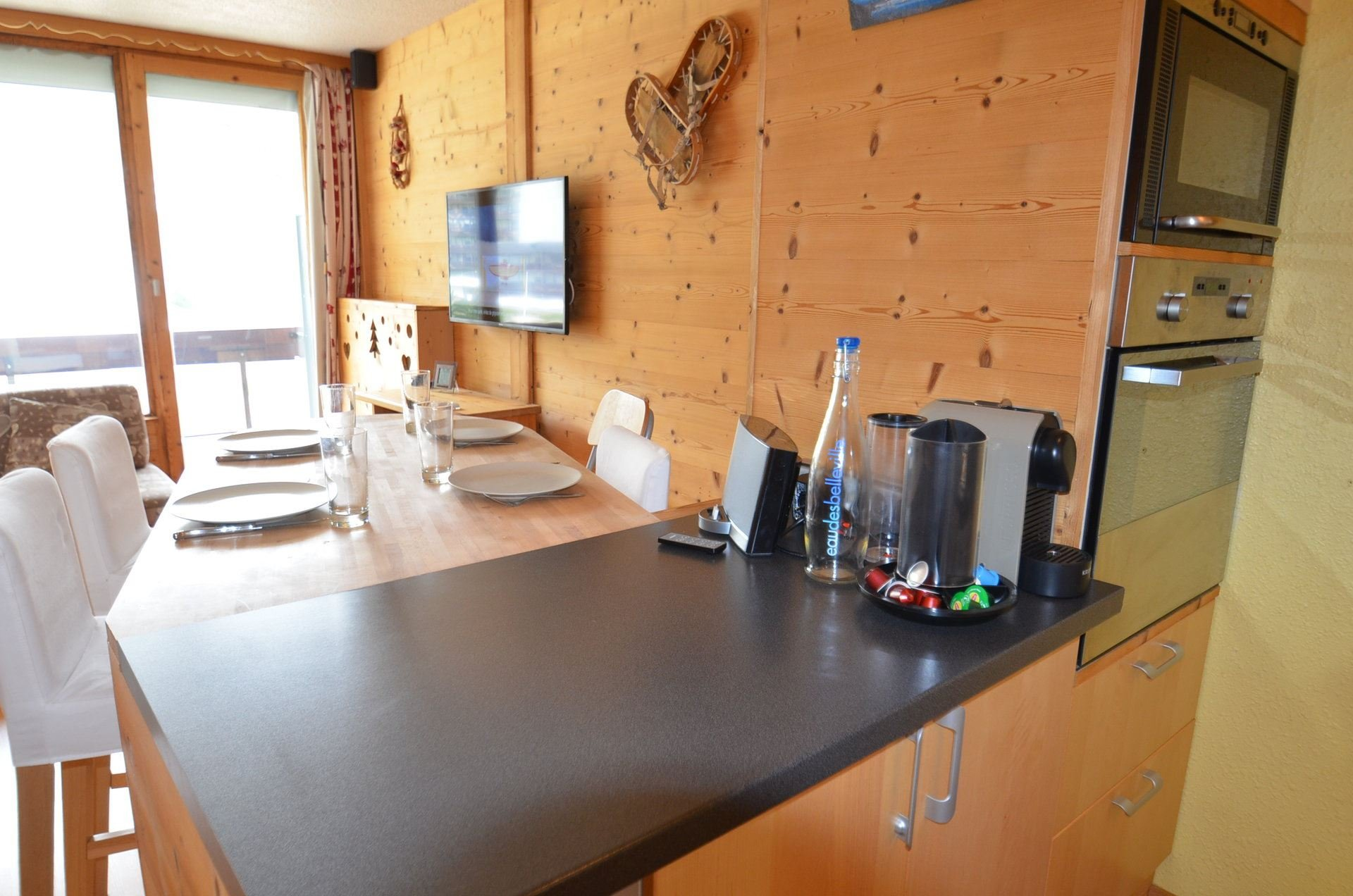 2 room 4 people ski-in ski-out / PECLET 302