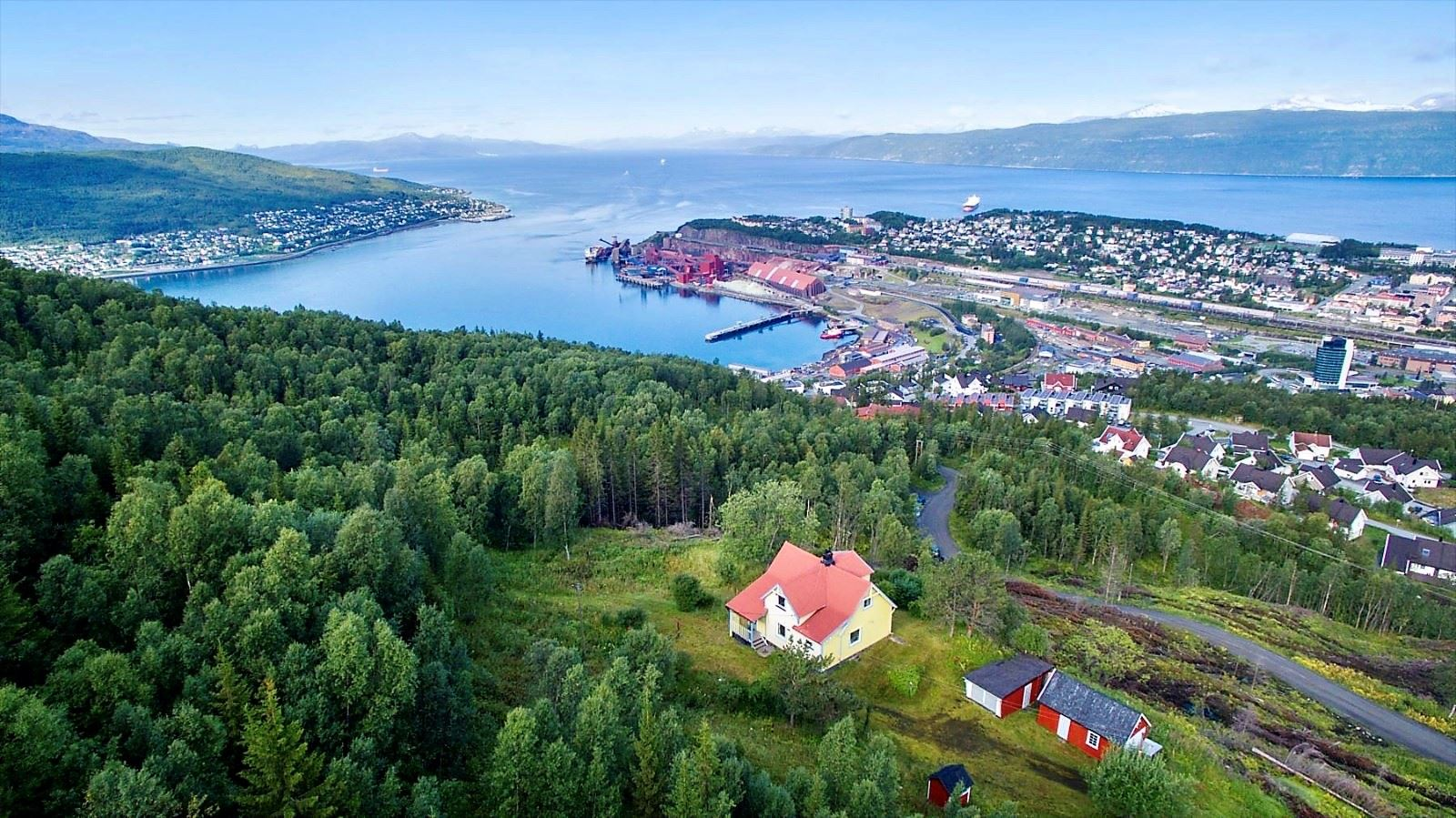 Fun - food and photo hos Narvik Adventures