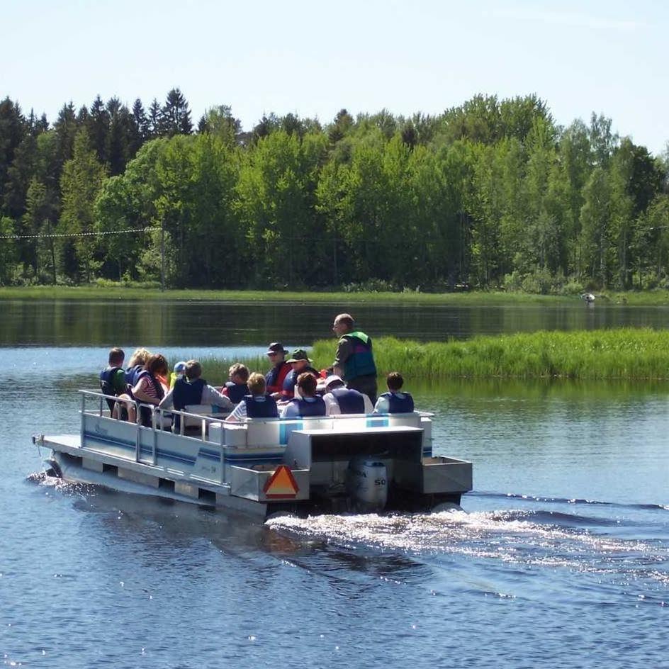 Båtturer i Färnebofjärdens nationalpark