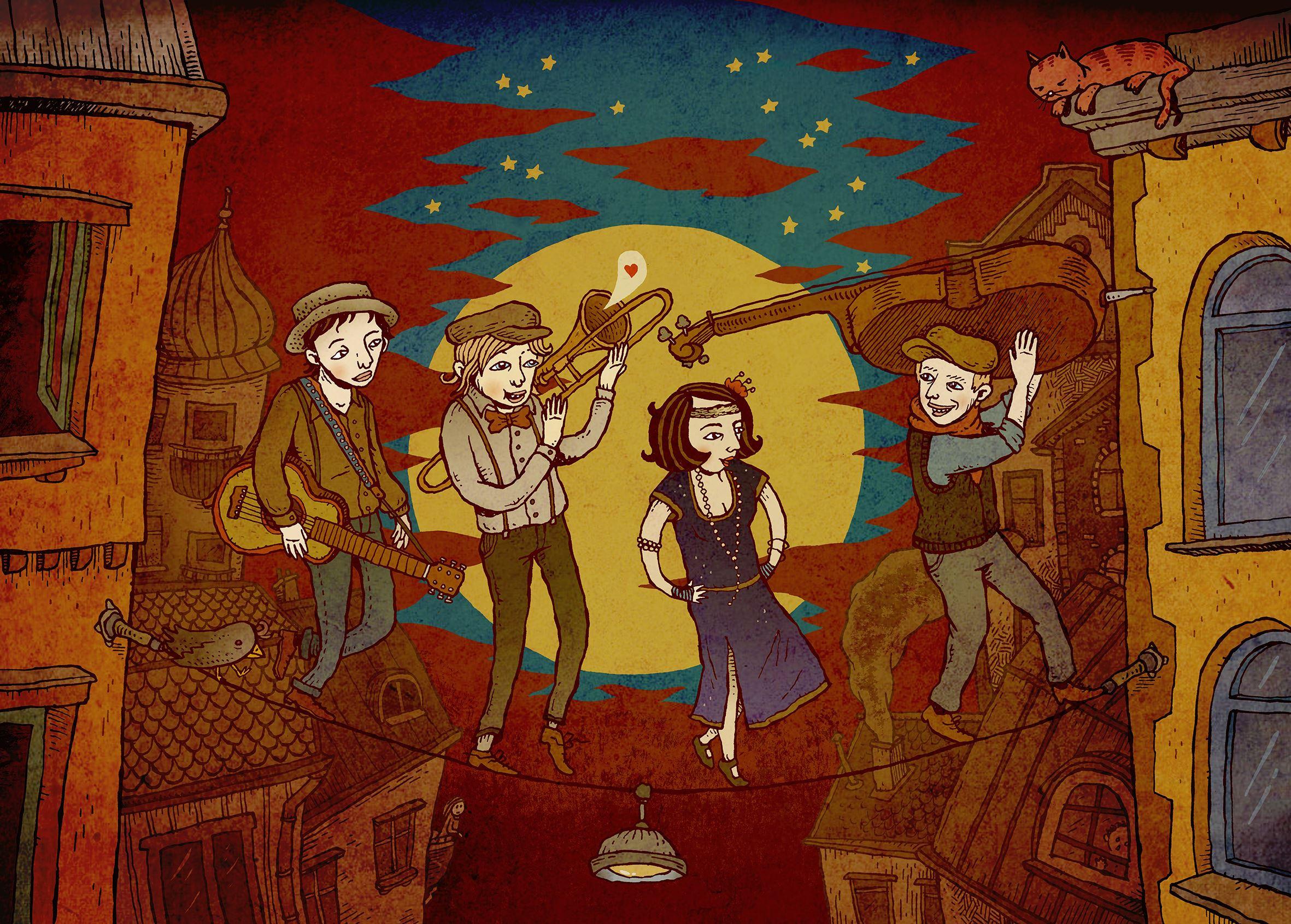 Swing Tarturo: Jazzkattsväng