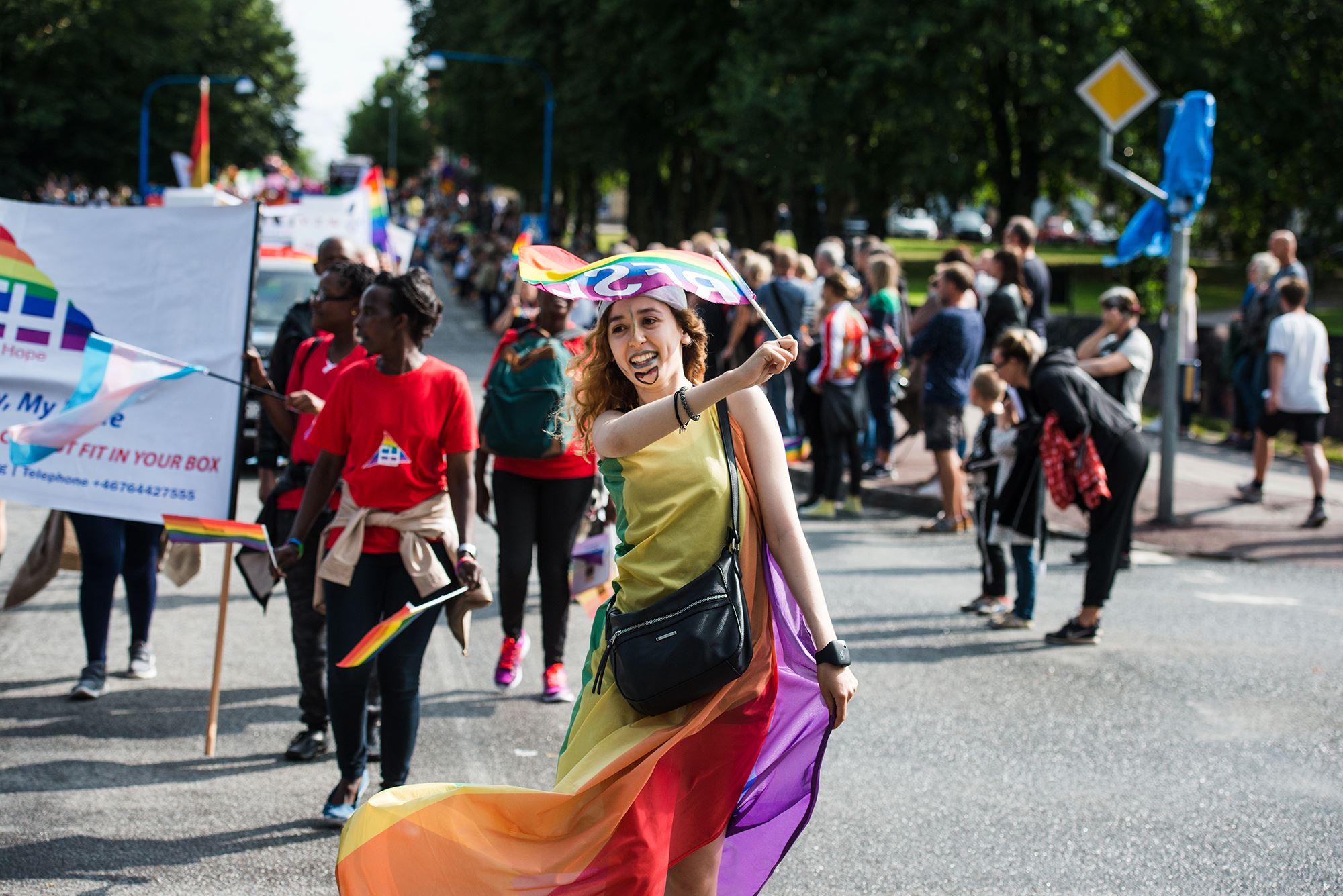 Gävle Pride 2018, Pridedagarna, Paraden
