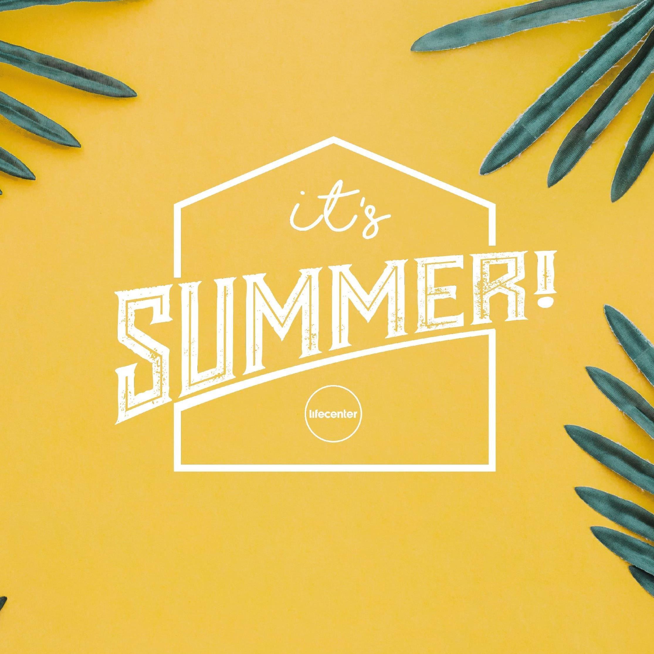Sommargudstjänster Café & Bad - it's summer!