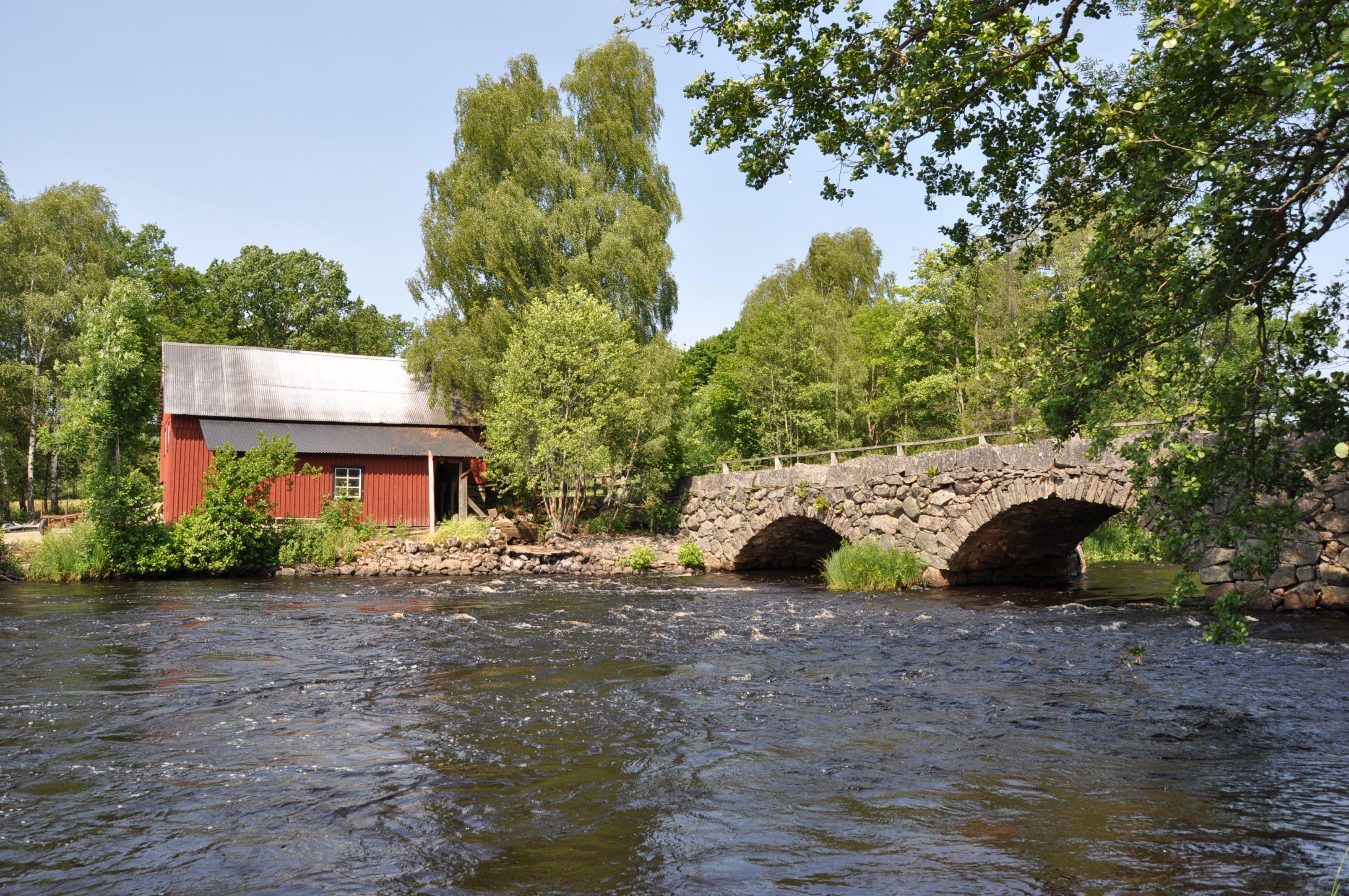 Wassermühle in Kornberga