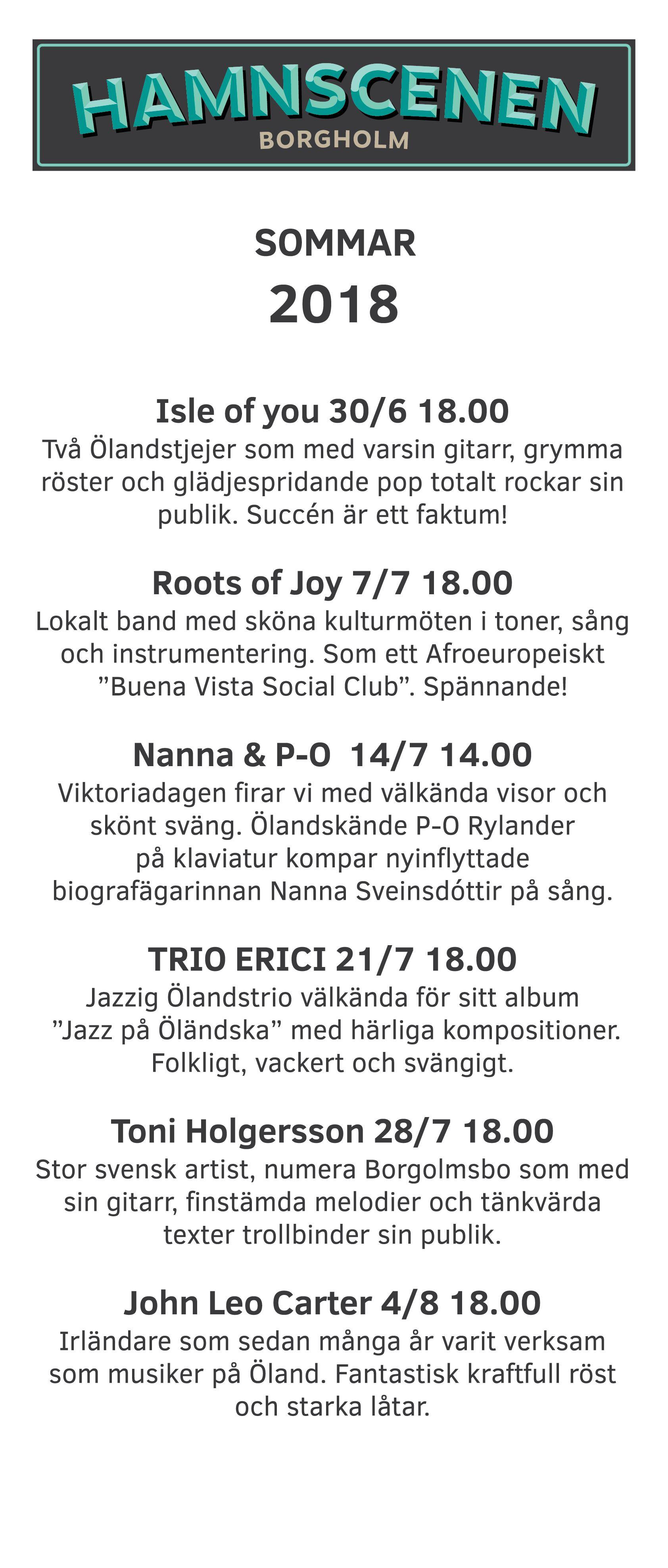 Hamnscenen Borgholm - Toni Holgersson