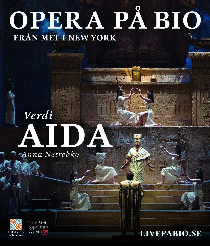 Metropolitanoperan ger Aida