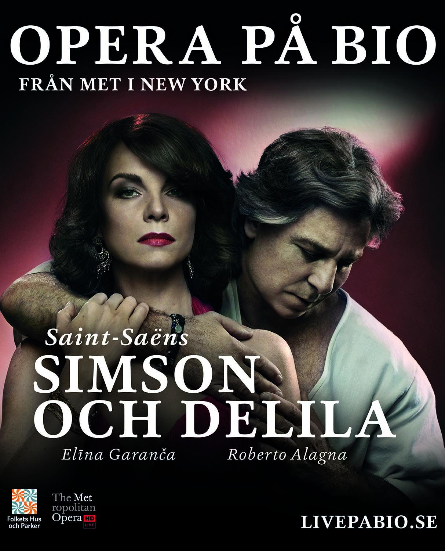 Metropolitanoperan ger Simson och Delila