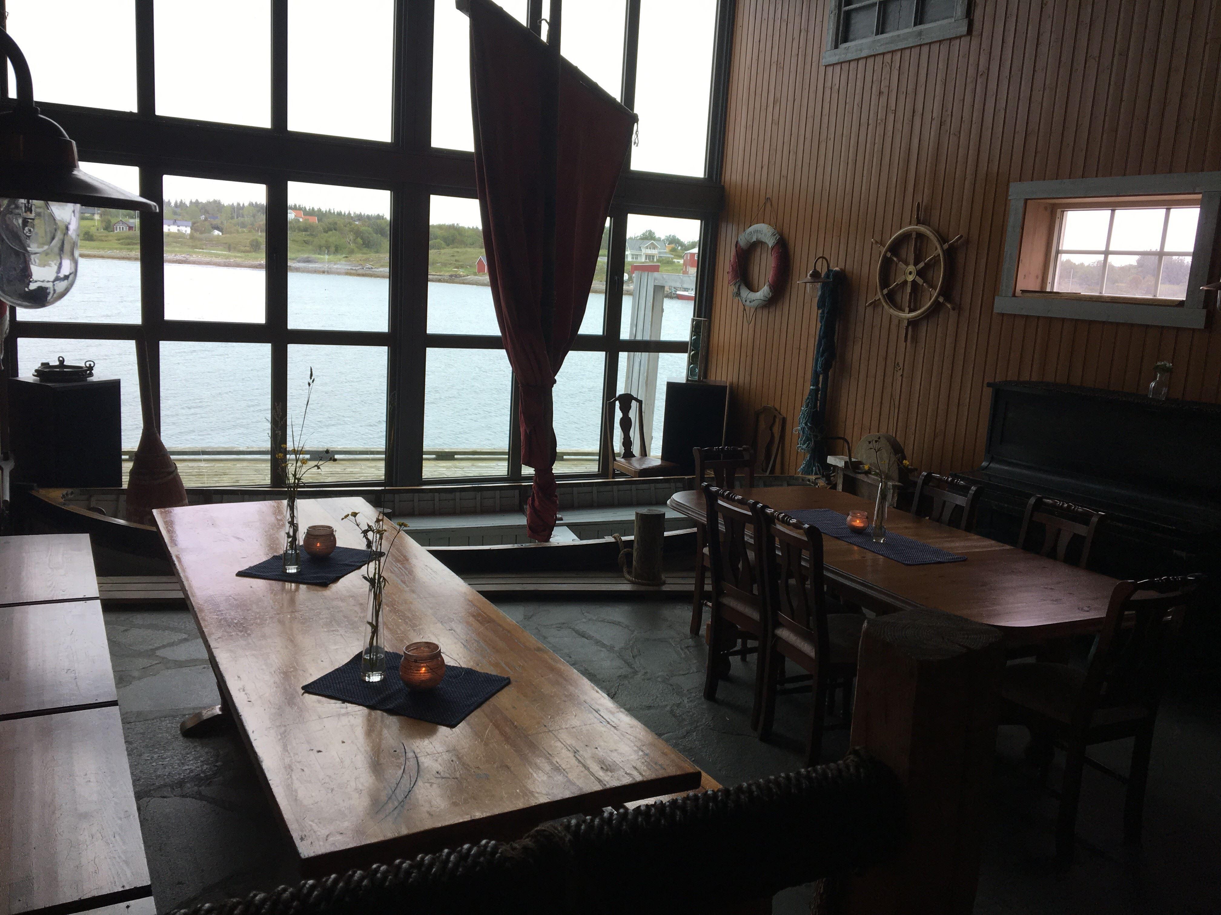 Bøteriet Restaurant on Dønna