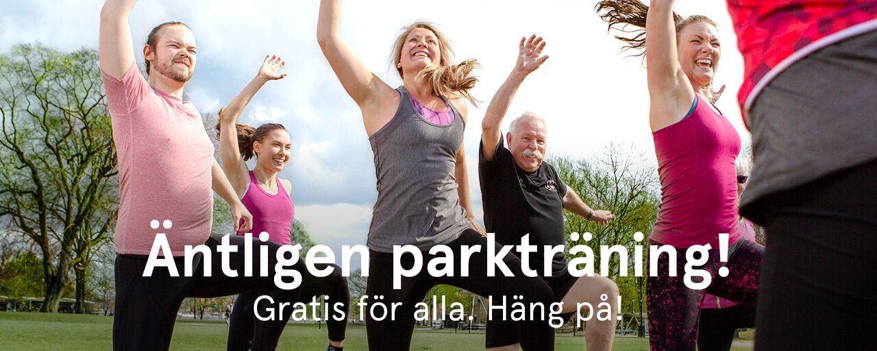 Parkträning med Friskis&Svettis