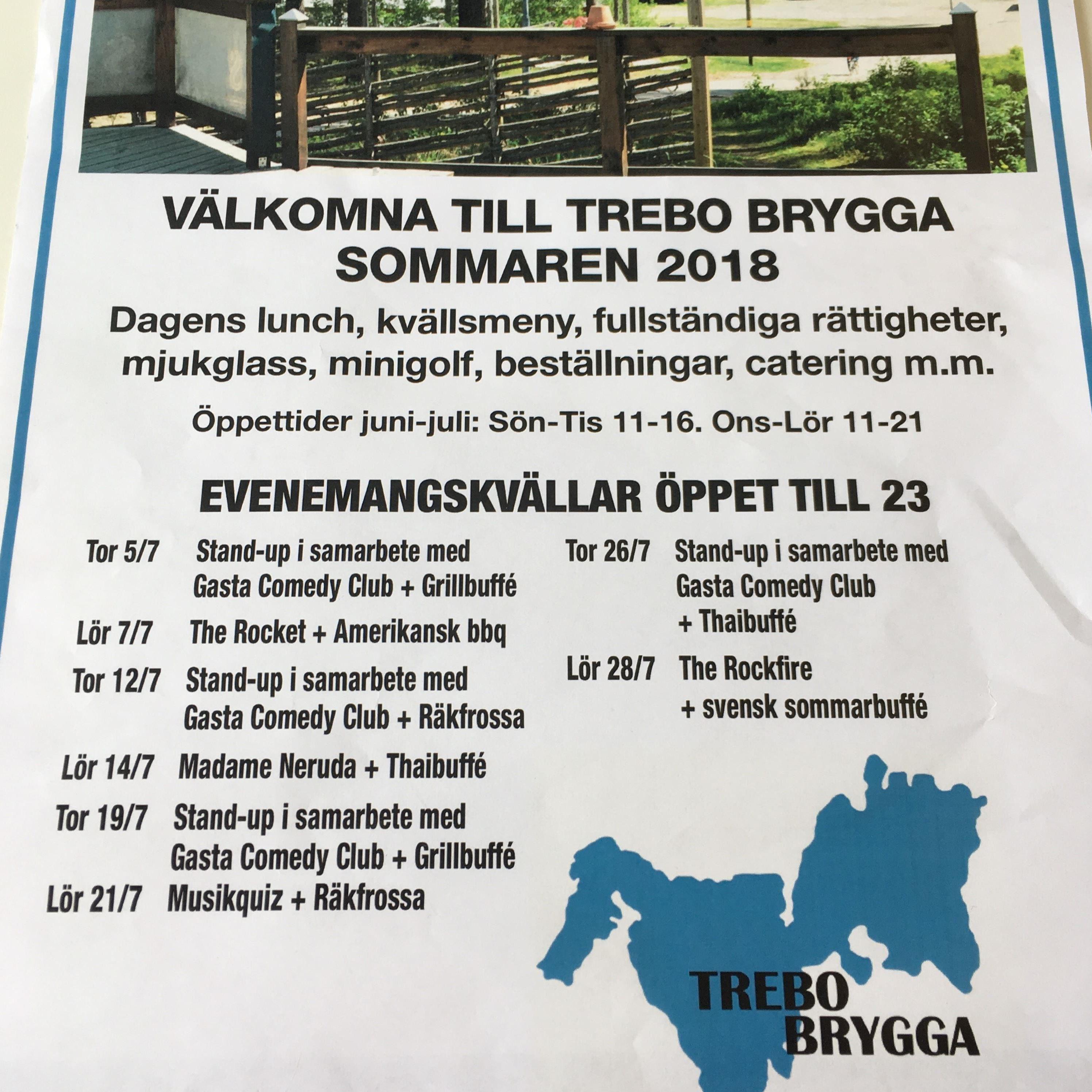 The Rockfire med Svensk Sommarbuffé