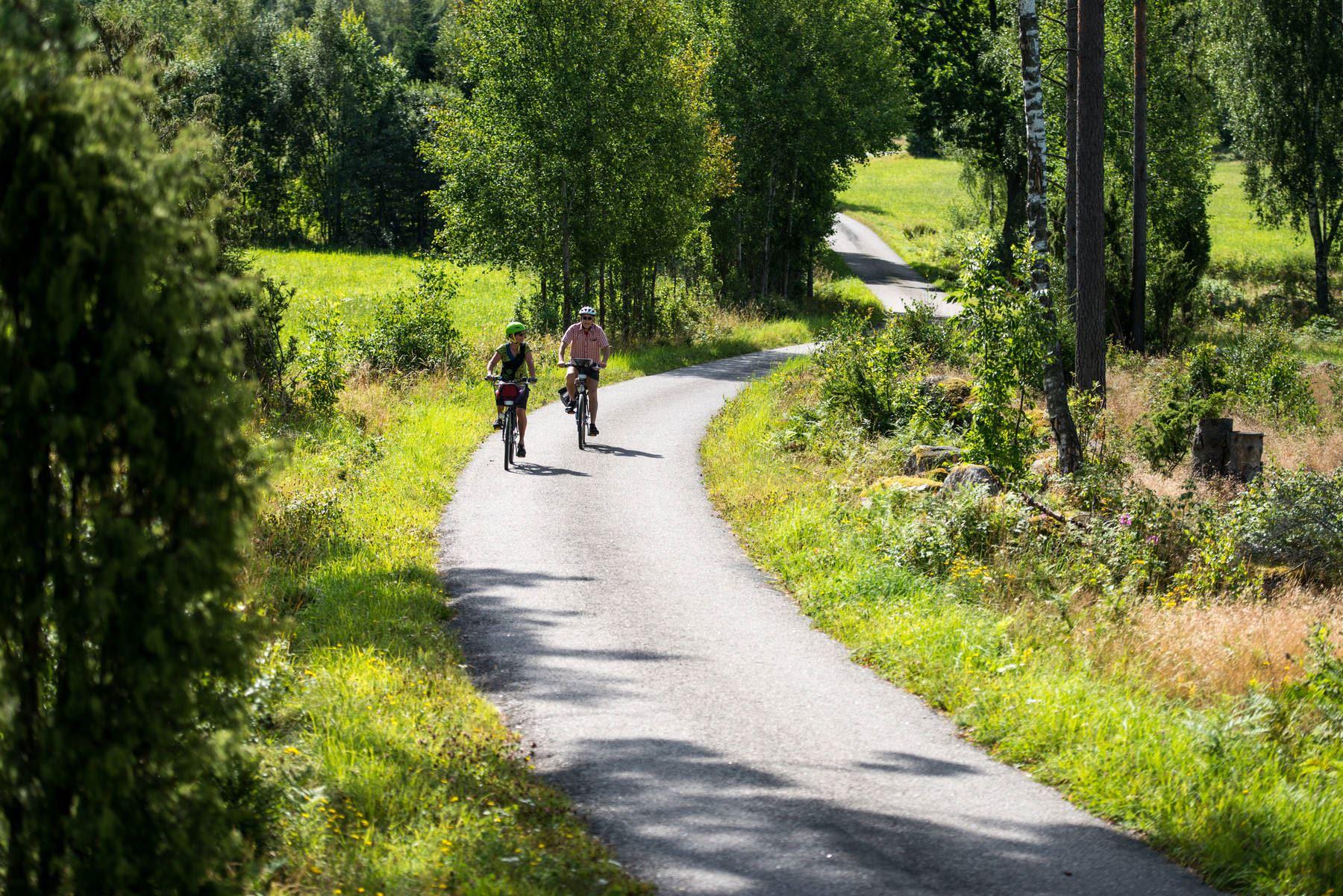 Bicycle tour Kronobergstrampen, 350 km