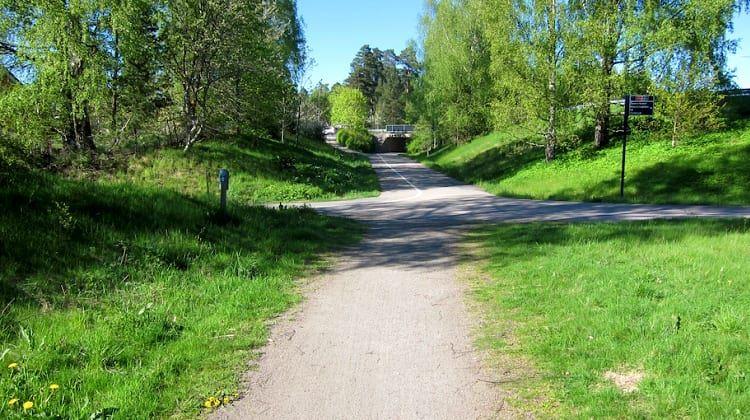 Biking: Växjö runt, 42 km