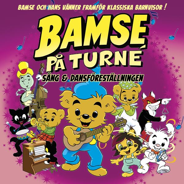 Bamse på turné - Extraföreställning!