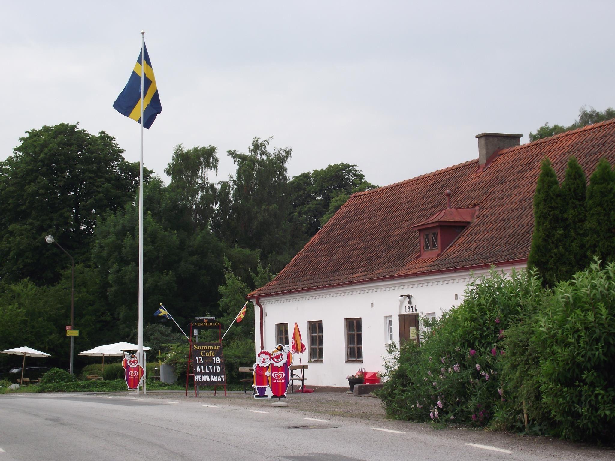Sommarcafe i Byahuset i V.Vemmerlöv