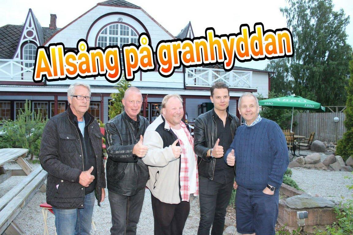 Allsångskväll på Granhyddan