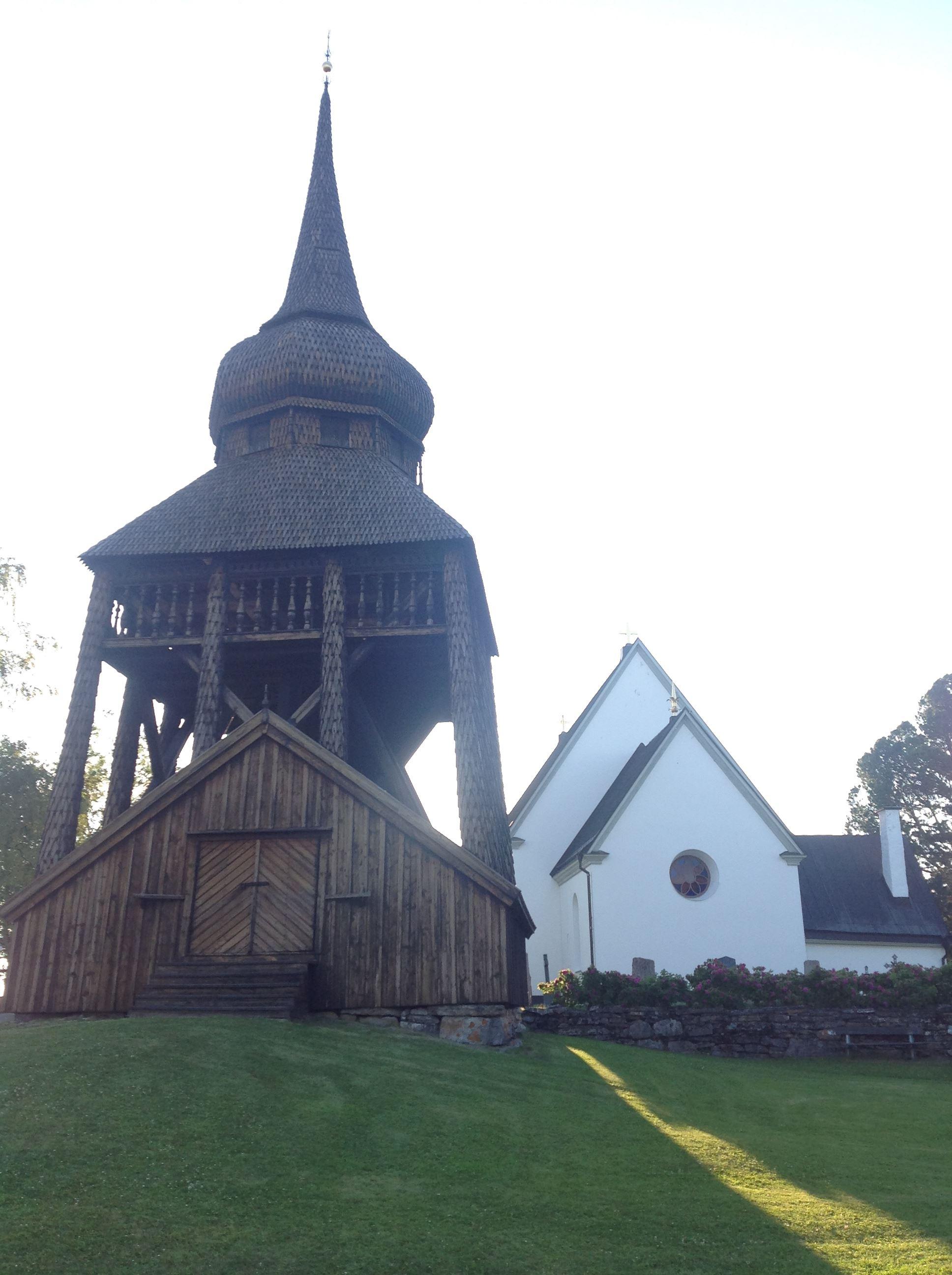 Foto: Visit Östersund,  © Copy:Visit Östersund, frösö kyrka