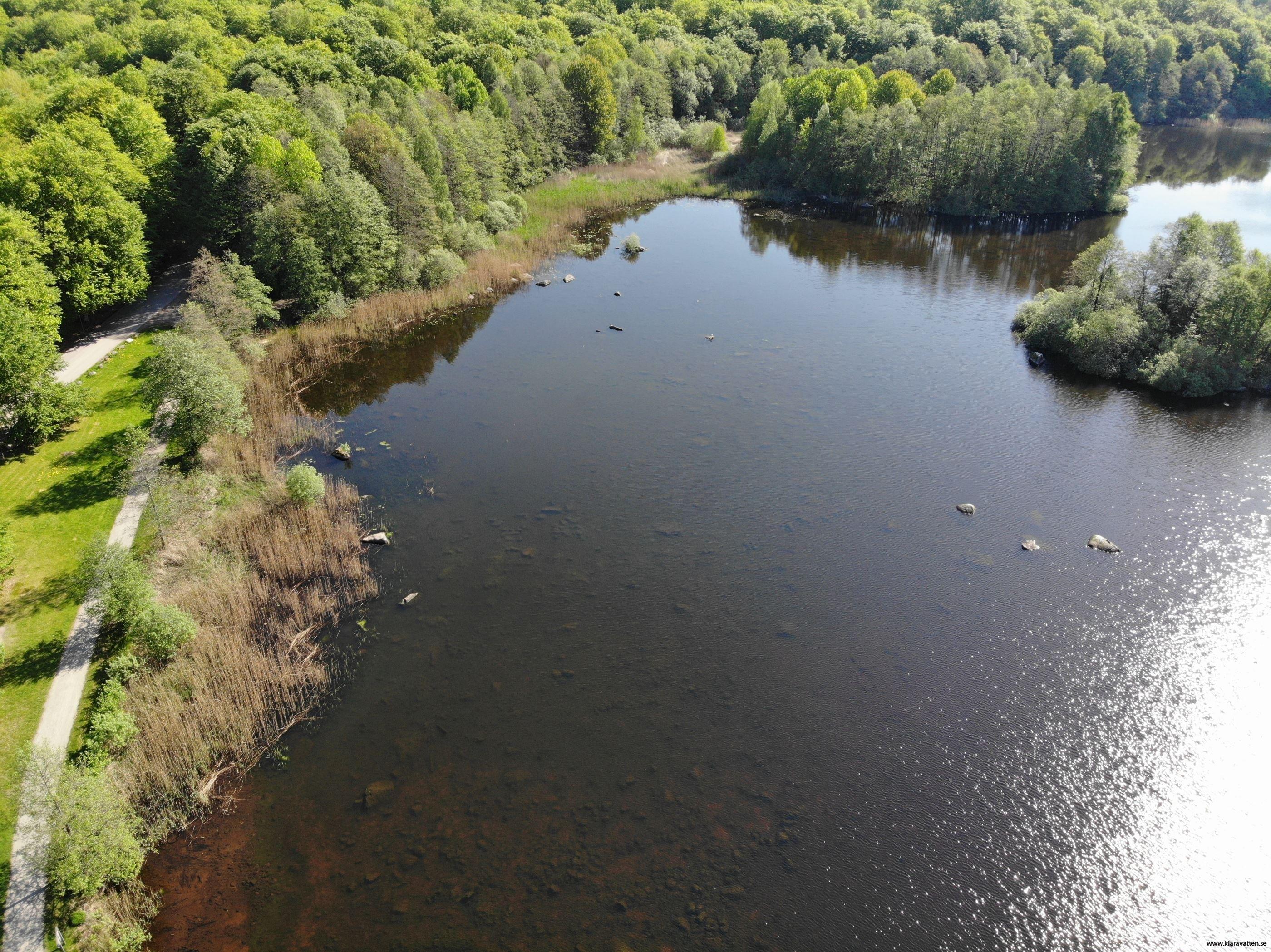 Biking: Södra Bergundasjön, 11 km
