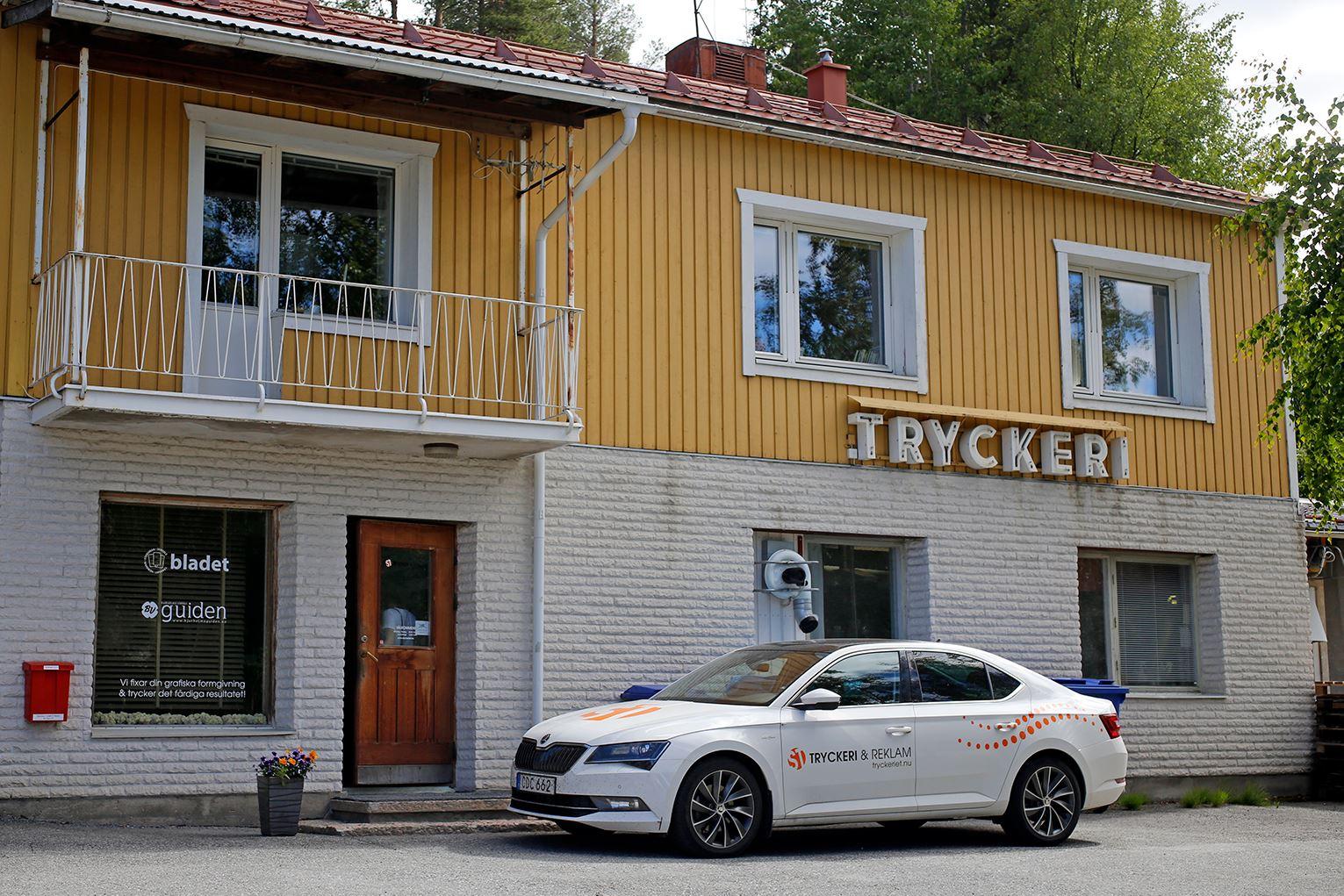 Anna Edvall,  © Linjalen, ST Tryckeri & Reklam in Storuman
