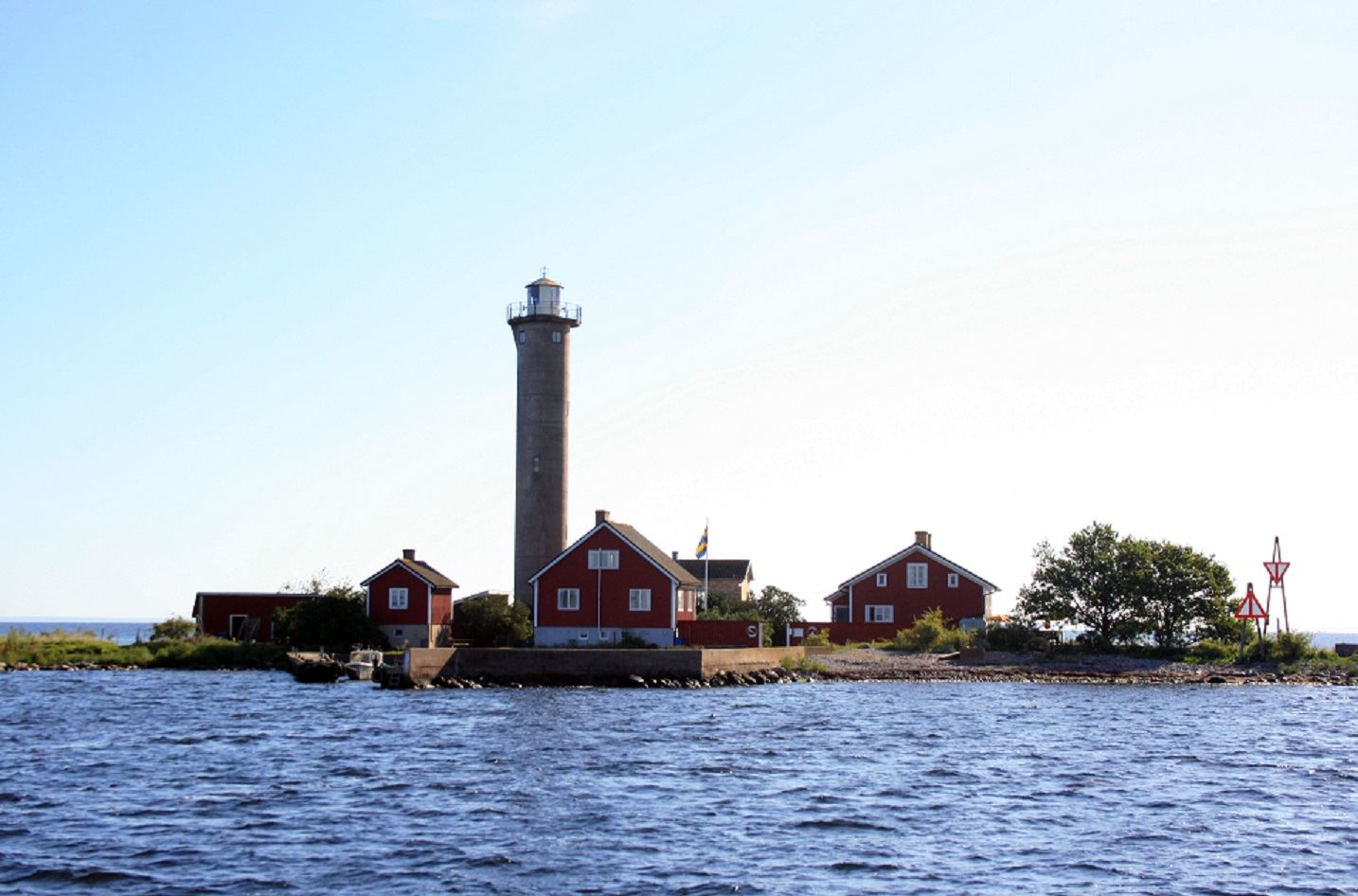 Torsås Turistbyrå, Garpen från båten