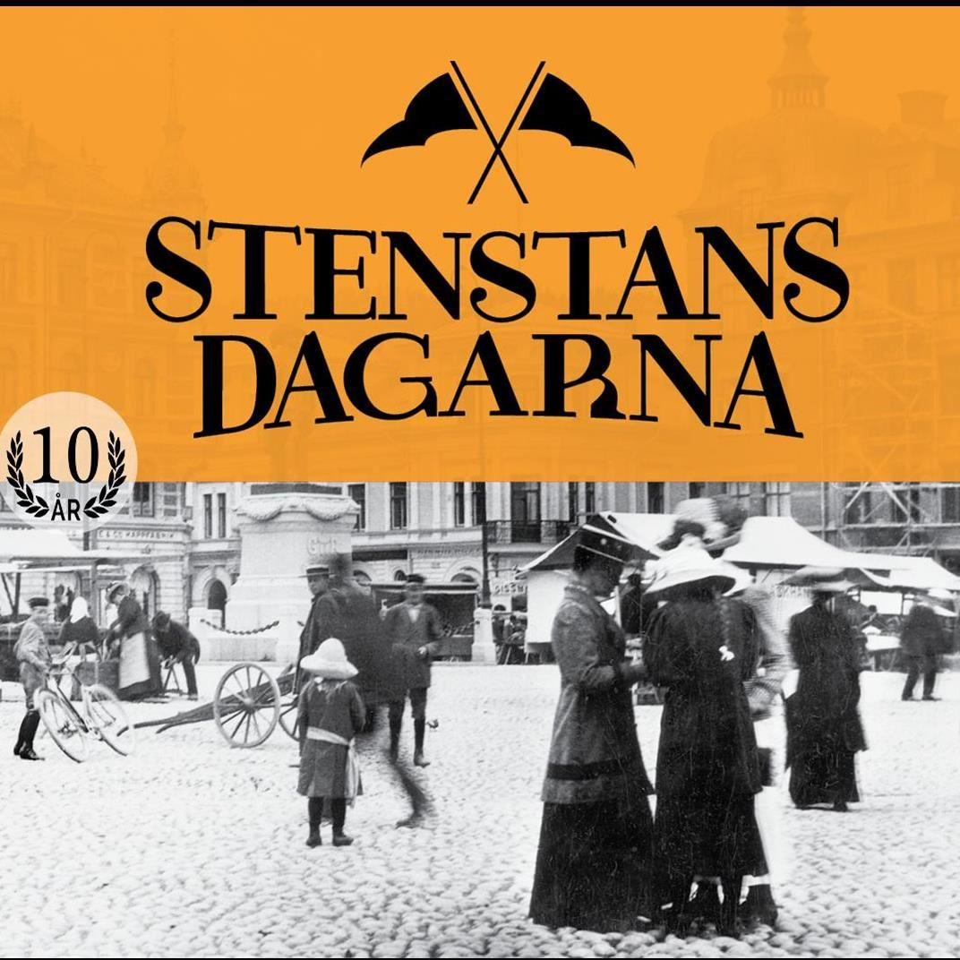 Promenad i Lars Ahlins fot- och romanspår   Stenstansdagarna