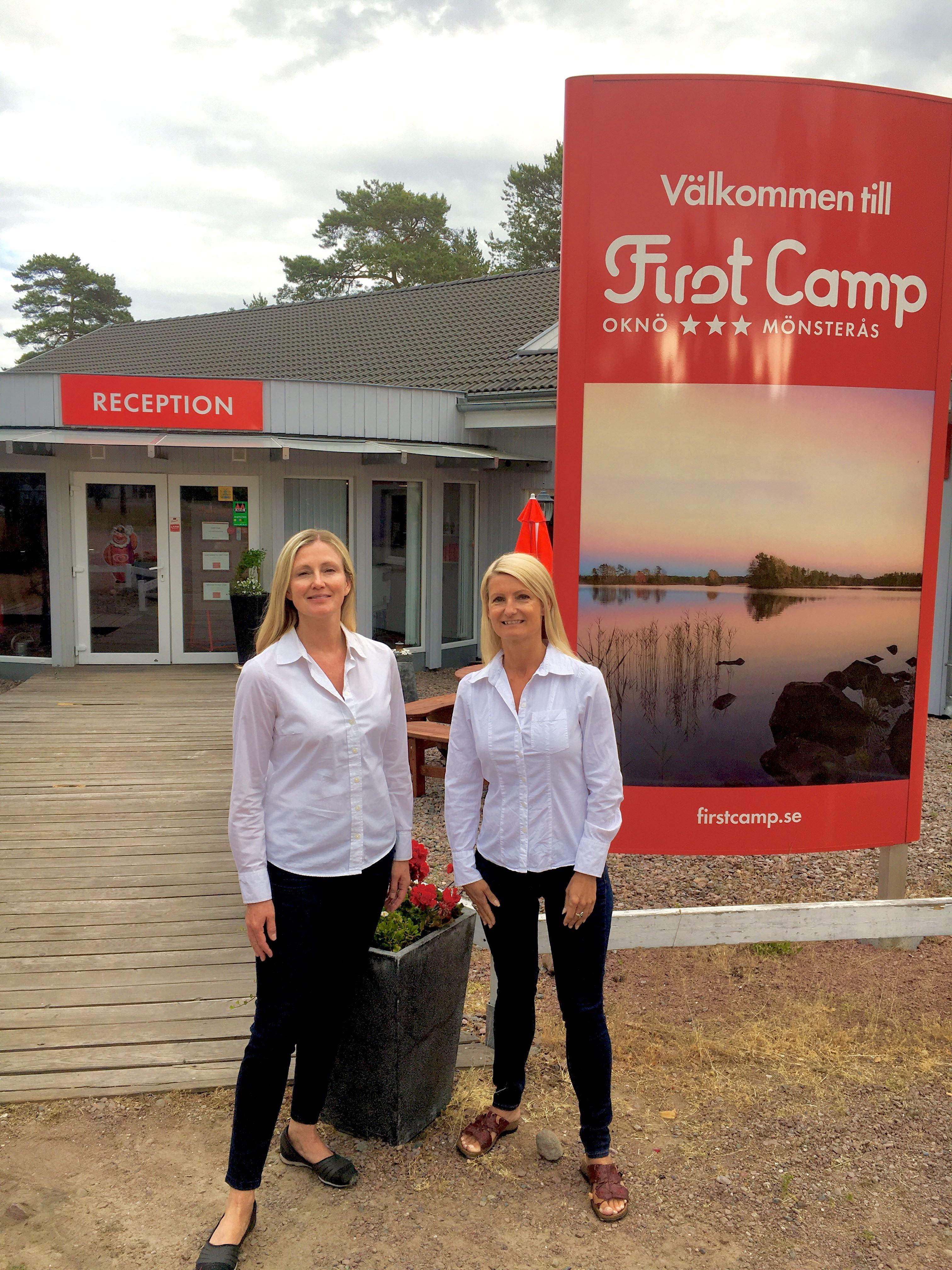 Martina och Jackie välkomnar till hälsoveckor på First Camp, Oknö