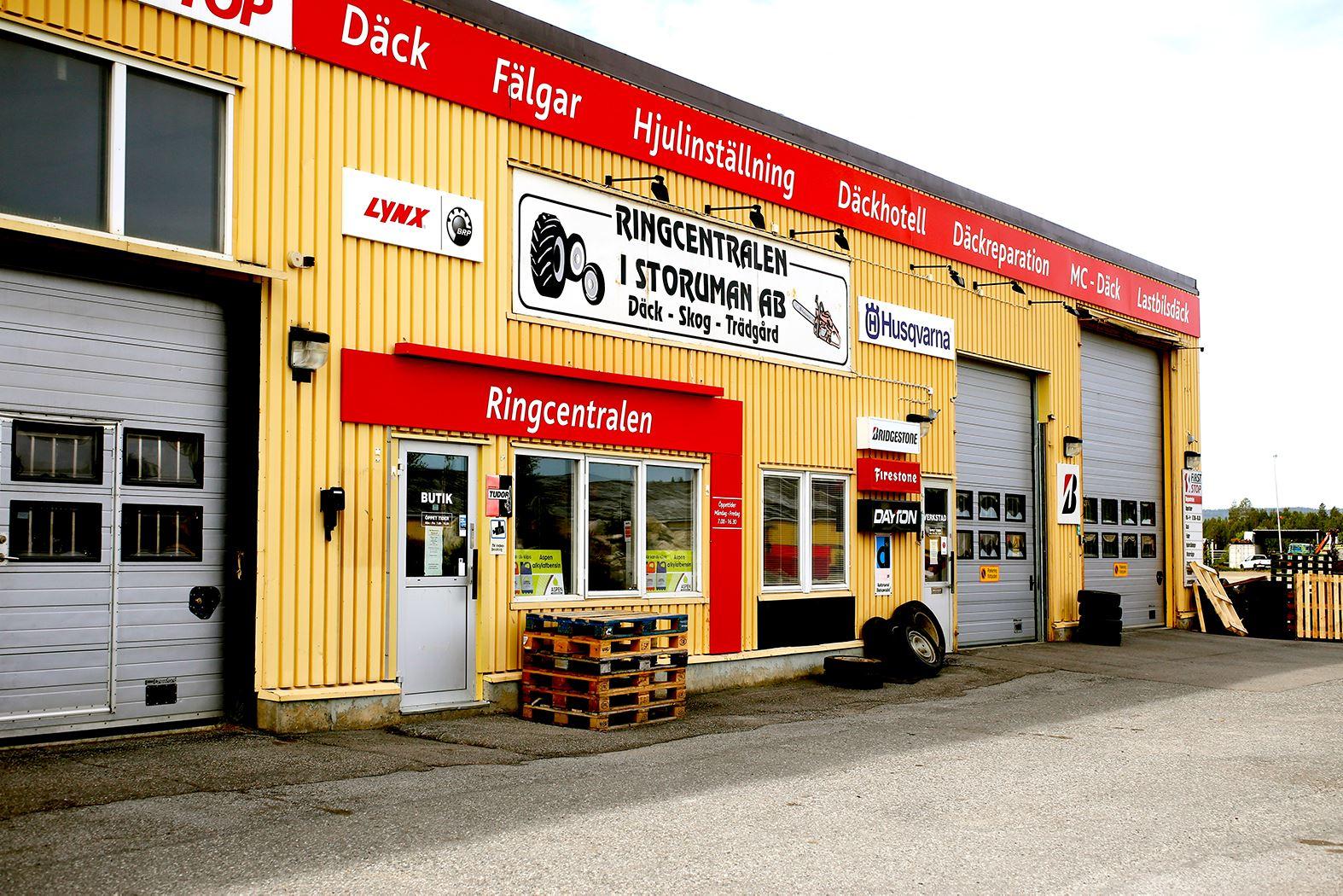 Anna Edvall,  © Linjalen, Ringcentralen in Storuman